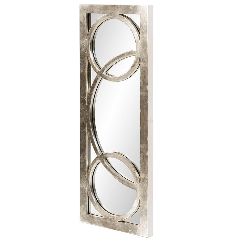 38 In. X 15 In. Silver Whimsical Overlay Framed Mirror 51261 Within Recent Whimsical Wall Mirrors (Gallery 15 of 20)