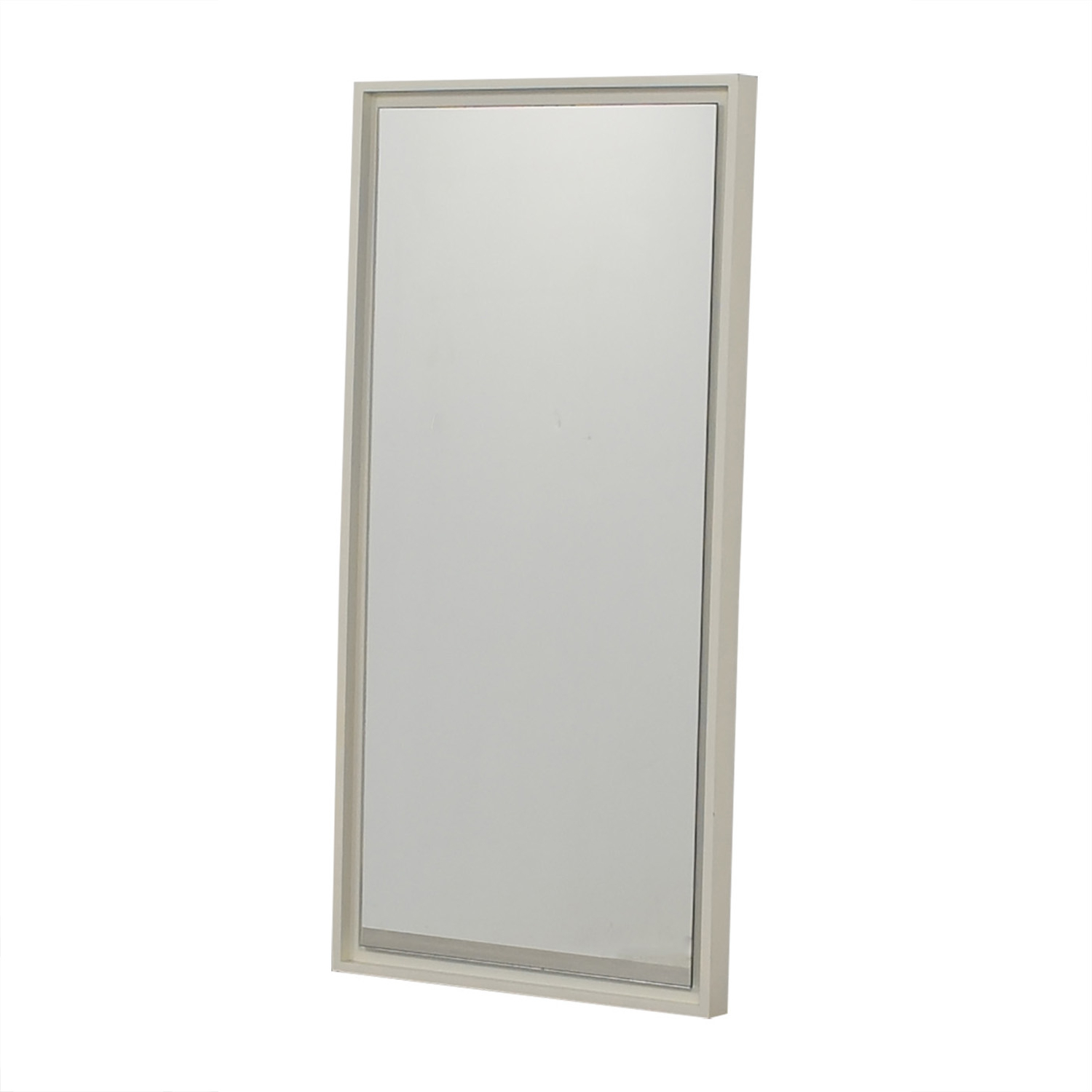 [%47% Off – West Elm West Elm White Lacquer Floating Wood Wall Mirror / Decor Regarding 2019 West Elm Wall Mirrors|west Elm Wall Mirrors With Best And Newest 47% Off – West Elm West Elm White Lacquer Floating Wood Wall Mirror / Decor|latest West Elm Wall Mirrors With 47% Off – West Elm West Elm White Lacquer Floating Wood Wall Mirror / Decor|trendy 47% Off – West Elm West Elm White Lacquer Floating Wood Wall Mirror / Decor For West Elm Wall Mirrors%] (View 12 of 20)