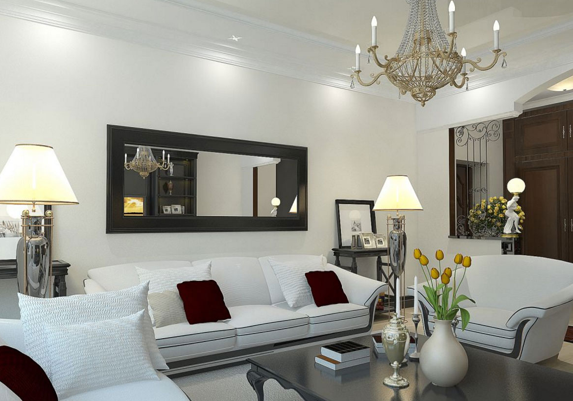 Featured Photo of Large Wall Mirrors For Living Room