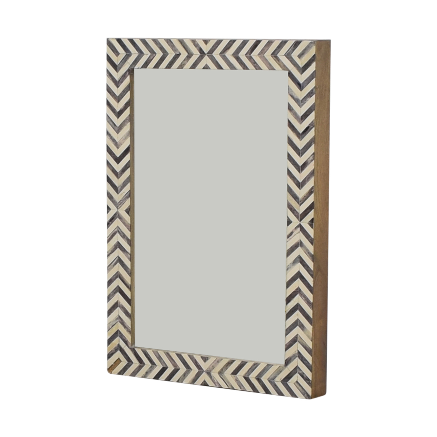 [%51% Off – West Elm West Elm Parsons Gray Herringbone Wall Mirror / Decor For Well Known West Elm Wall Mirrors|west Elm Wall Mirrors In Most Recently Released 51% Off – West Elm West Elm Parsons Gray Herringbone Wall Mirror / Decor|fashionable West Elm Wall Mirrors Pertaining To 51% Off – West Elm West Elm Parsons Gray Herringbone Wall Mirror / Decor|best And Newest 51% Off – West Elm West Elm Parsons Gray Herringbone Wall Mirror / Decor Regarding West Elm Wall Mirrors%] (View 2 of 20)
