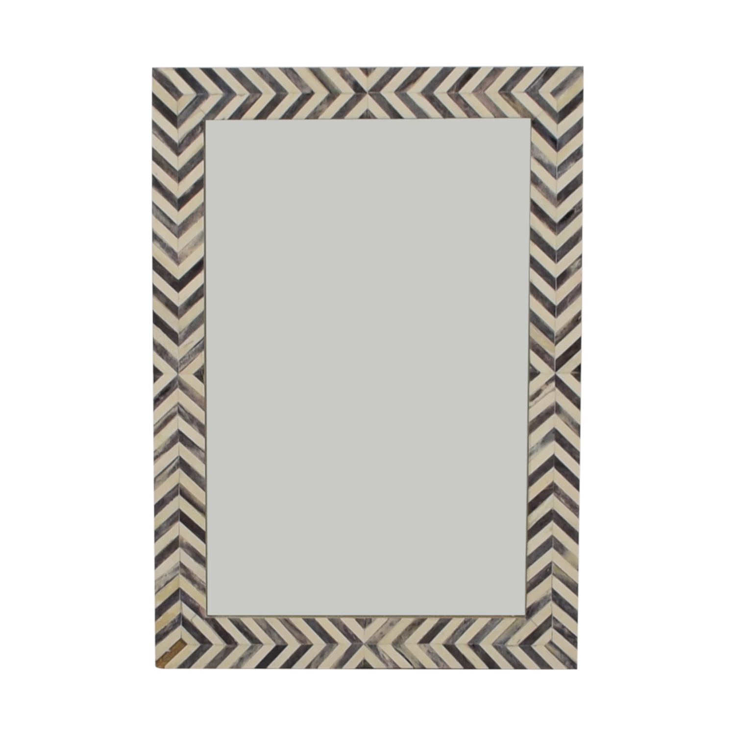 [%51% Off – West Elm West Elm Parsons Gray Herringbone Wall Mirror / Decor With Regard To Fashionable Parsons Wall Mirrors|Parsons Wall Mirrors Pertaining To Well Known 51% Off – West Elm West Elm Parsons Gray Herringbone Wall Mirror / Decor|Recent Parsons Wall Mirrors For 51% Off – West Elm West Elm Parsons Gray Herringbone Wall Mirror / Decor|Widely Used 51% Off – West Elm West Elm Parsons Gray Herringbone Wall Mirror / Decor With Parsons Wall Mirrors%] (View 3 of 20)