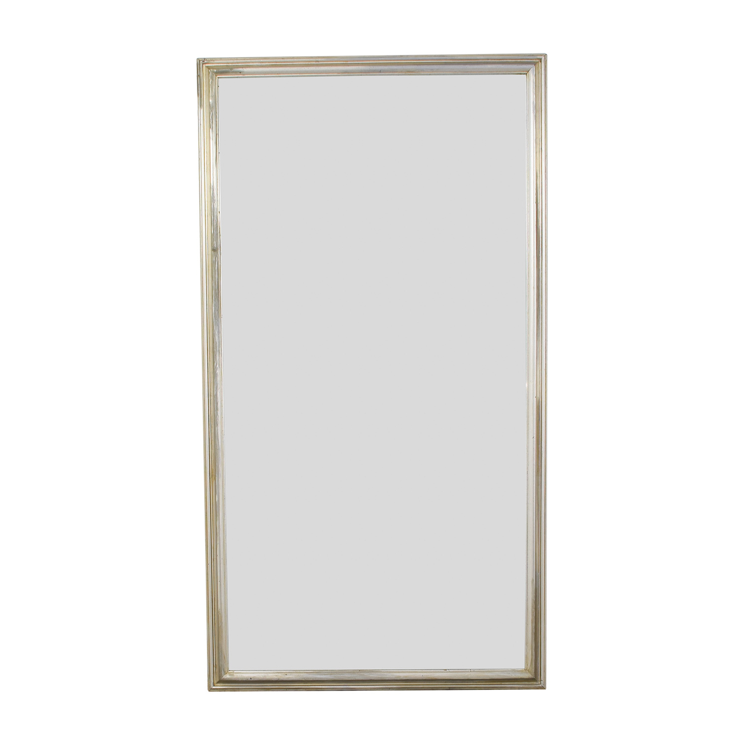 [%66% Off – Silver Leaf Frame Wall Mirror / Decor Within Well Known Silver Leaf Wall Mirrors|Silver Leaf Wall Mirrors Inside Trendy 66% Off – Silver Leaf Frame Wall Mirror / Decor|Popular Silver Leaf Wall Mirrors With Regard To 66% Off – Silver Leaf Frame Wall Mirror / Decor|2019 66% Off – Silver Leaf Frame Wall Mirror / Decor Throughout Silver Leaf Wall Mirrors%] (View 1 of 20)