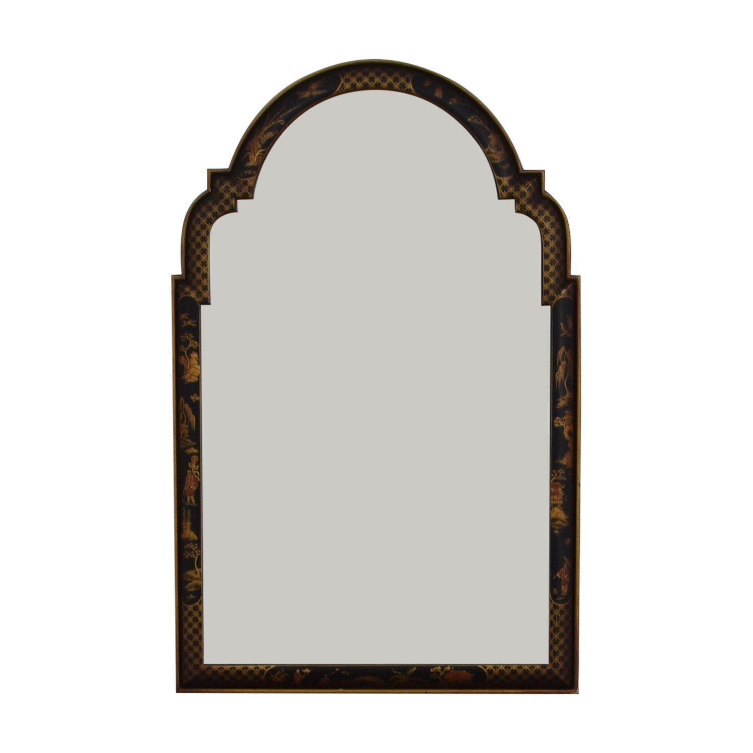 [%72% Off – Black Lacquer Frame With Japanese Drawings Wall Mirror / Decor Within Popular Black Frame Wall Mirrors|black Frame Wall Mirrors With Best And Newest 72% Off – Black Lacquer Frame With Japanese Drawings Wall Mirror / Decor|well Known Black Frame Wall Mirrors Inside 72% Off – Black Lacquer Frame With Japanese Drawings Wall Mirror / Decor|recent 72% Off – Black Lacquer Frame With Japanese Drawings Wall Mirror / Decor Throughout Black Frame Wall Mirrors%] (View 13 of 20)