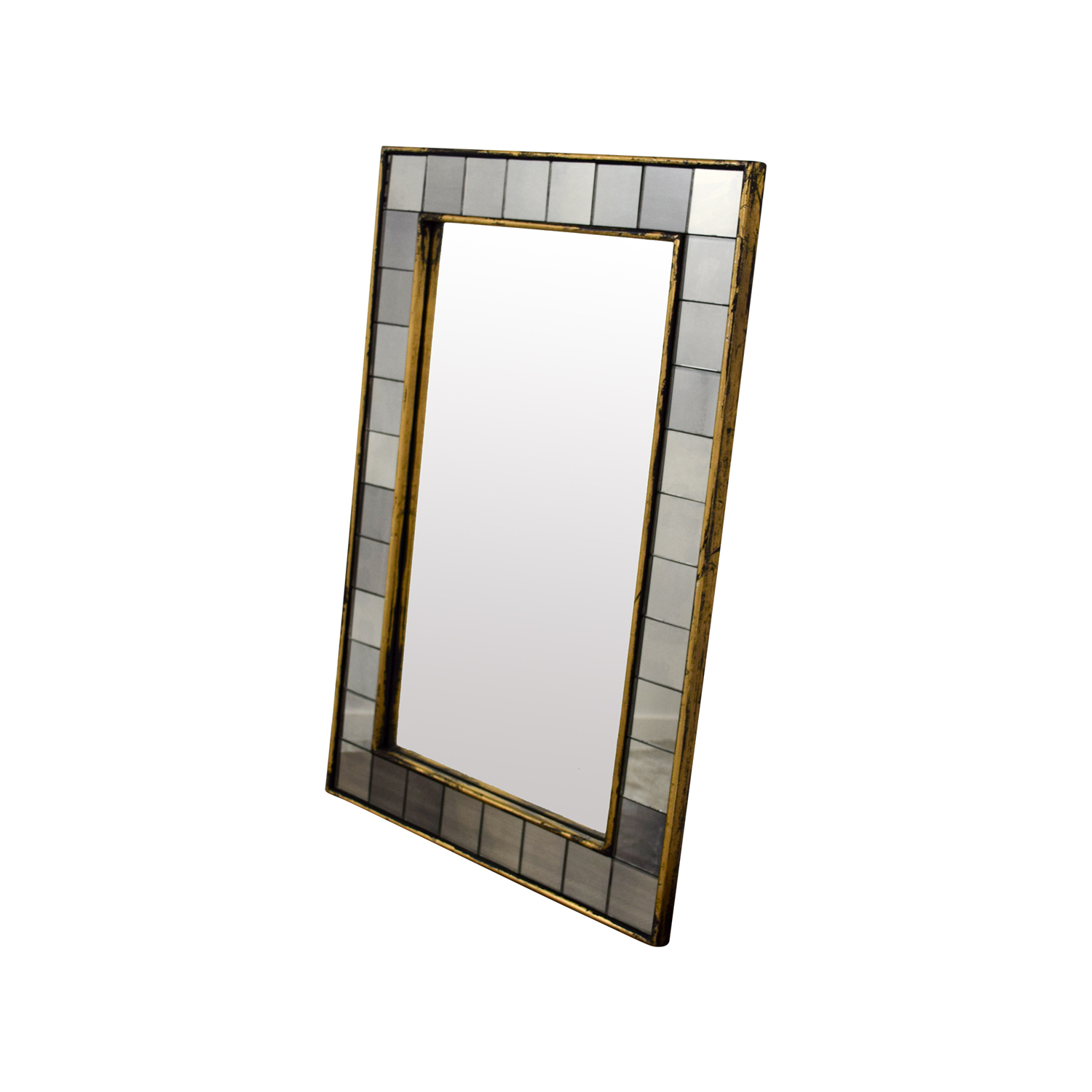 [%73% Off – West Elm West Elm Antique Tiled Wall Mirror / Decor Intended For Famous West Elm Wall Mirrors|west Elm Wall Mirrors Inside Famous 73% Off – West Elm West Elm Antique Tiled Wall Mirror / Decor|well Known West Elm Wall Mirrors Pertaining To 73% Off – West Elm West Elm Antique Tiled Wall Mirror / Decor|fashionable 73% Off – West Elm West Elm Antique Tiled Wall Mirror / Decor Pertaining To West Elm Wall Mirrors%] (View 10 of 20)
