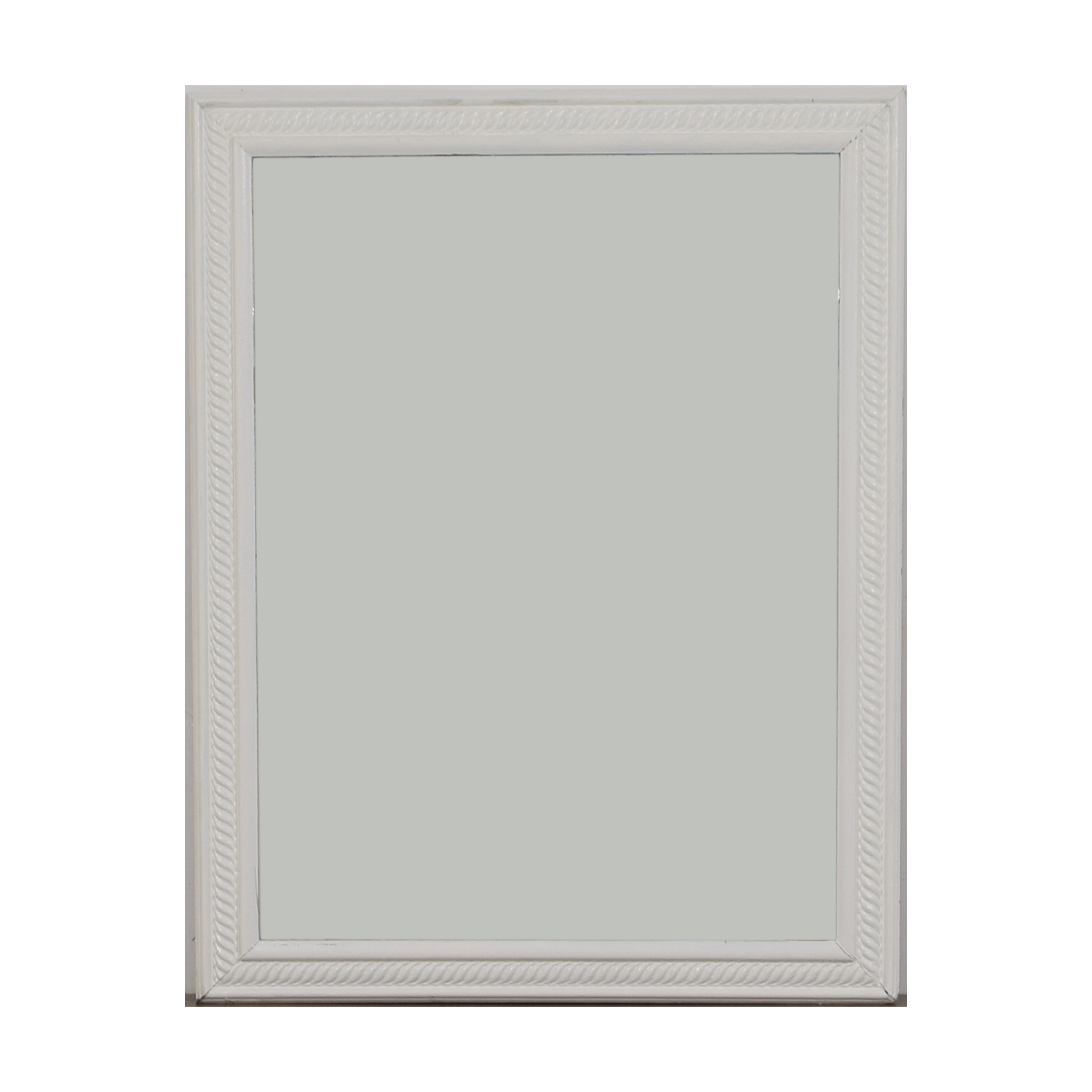 [%79% Off – White Frames Wall Mirror / Decor Intended For Most Popular White Frame Wall Mirrors|white Frame Wall Mirrors Regarding Most Recent 79% Off – White Frames Wall Mirror / Decor|preferred White Frame Wall Mirrors In 79% Off – White Frames Wall Mirror / Decor|2019 79% Off – White Frames Wall Mirror / Decor Intended For White Frame Wall Mirrors%] (View 8 of 20)