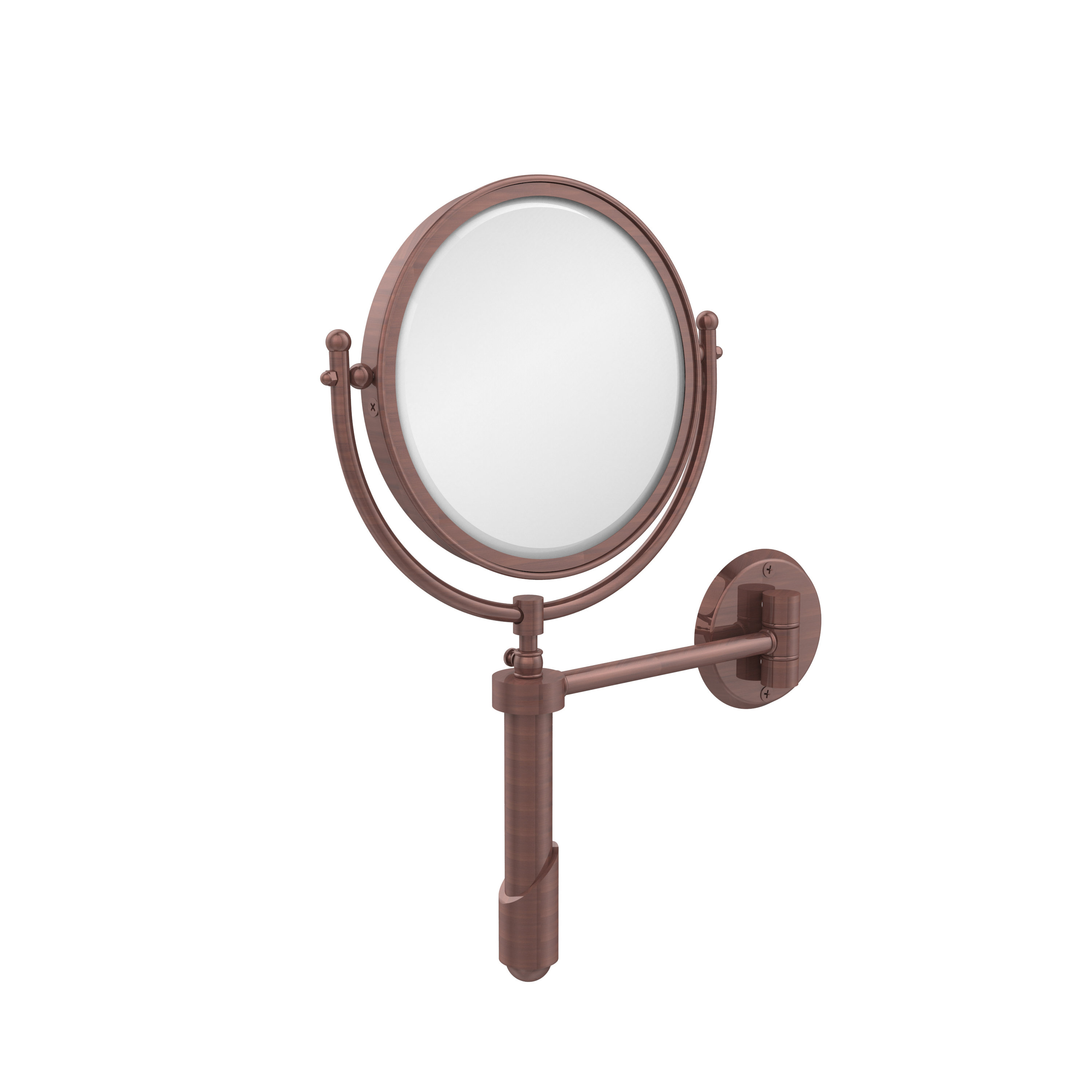 "8"" Extendable Wall Mirror With Magnification Pertaining To Well Known Extendable Wall Mirrors (Gallery 19 of 20)"