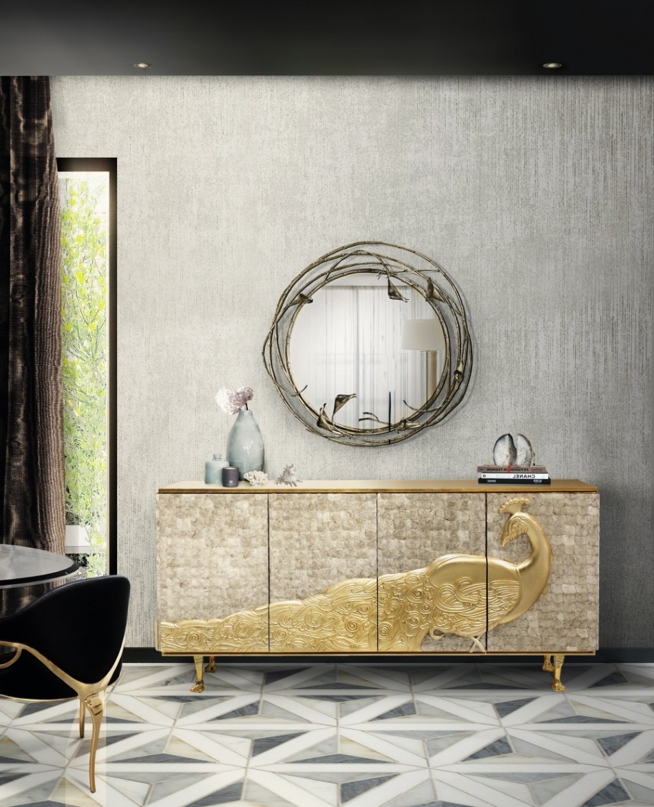 8 Luxury Wall Mirrors For Your Dining Room For Preferred Luxury Wall Mirrors (View 3 of 20)