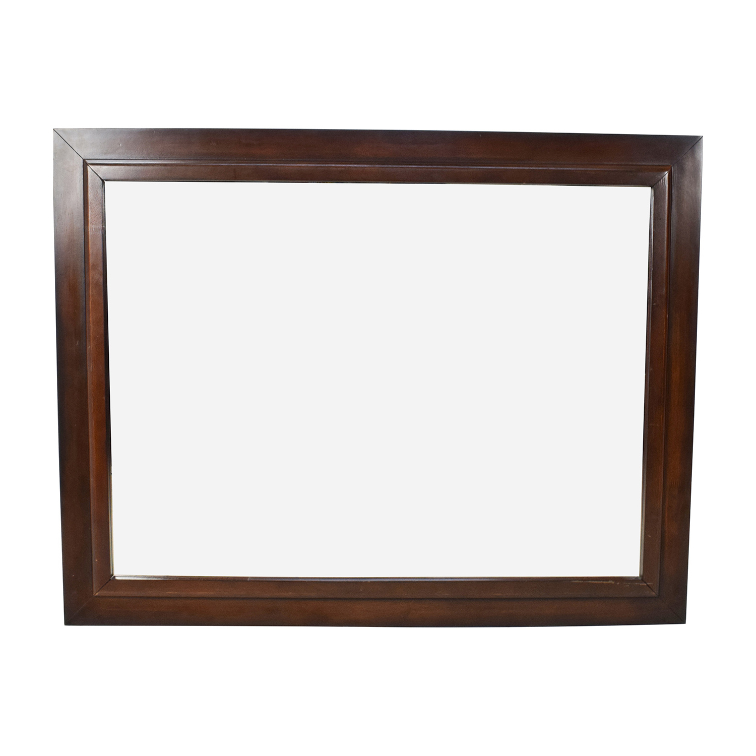 [%80% Off – Large Square Wood Framed Wall Mirror / Decor Pertaining To Widely Used Large Wood Wall Mirrors|Large Wood Wall Mirrors Pertaining To Most Up To Date 80% Off – Large Square Wood Framed Wall Mirror / Decor|Trendy Large Wood Wall Mirrors Throughout 80% Off – Large Square Wood Framed Wall Mirror / Decor|Newest 80% Off – Large Square Wood Framed Wall Mirror / Decor Within Large Wood Wall Mirrors%] (View 2 of 20)