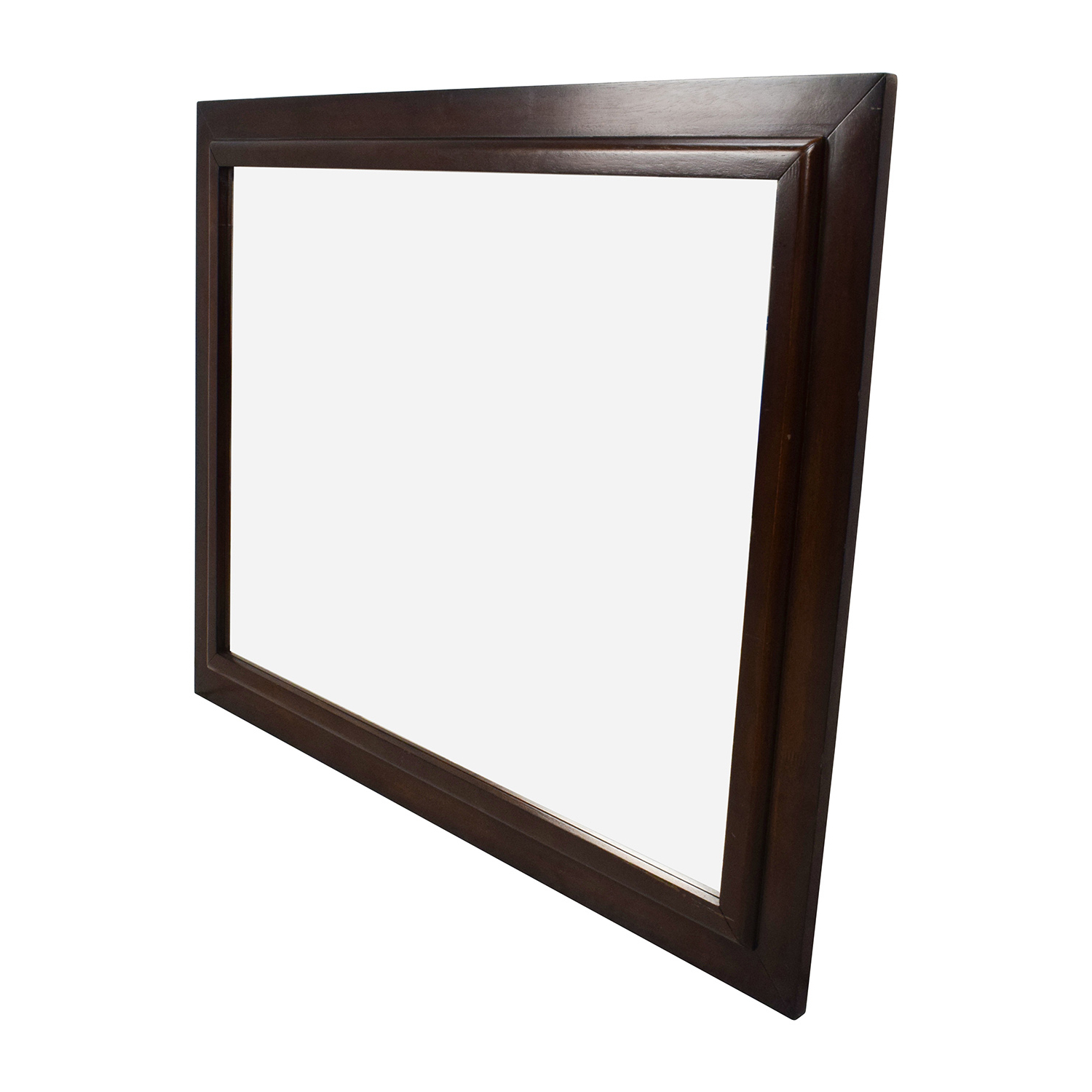 [%80% Off – Large Square Wood Framed Wall Mirror / Decor With Famous Brown Wall Mirrors brown Wall Mirrors Inside 2019 80% Off – Large Square Wood Framed Wall Mirror / Decor well Known Brown Wall Mirrors Within 80% Off – Large Square Wood Framed Wall Mirror / Decor latest 80% Off – Large Square Wood Framed Wall Mirror / Decor Within Brown Wall Mirrors%] (View 8 of 20)