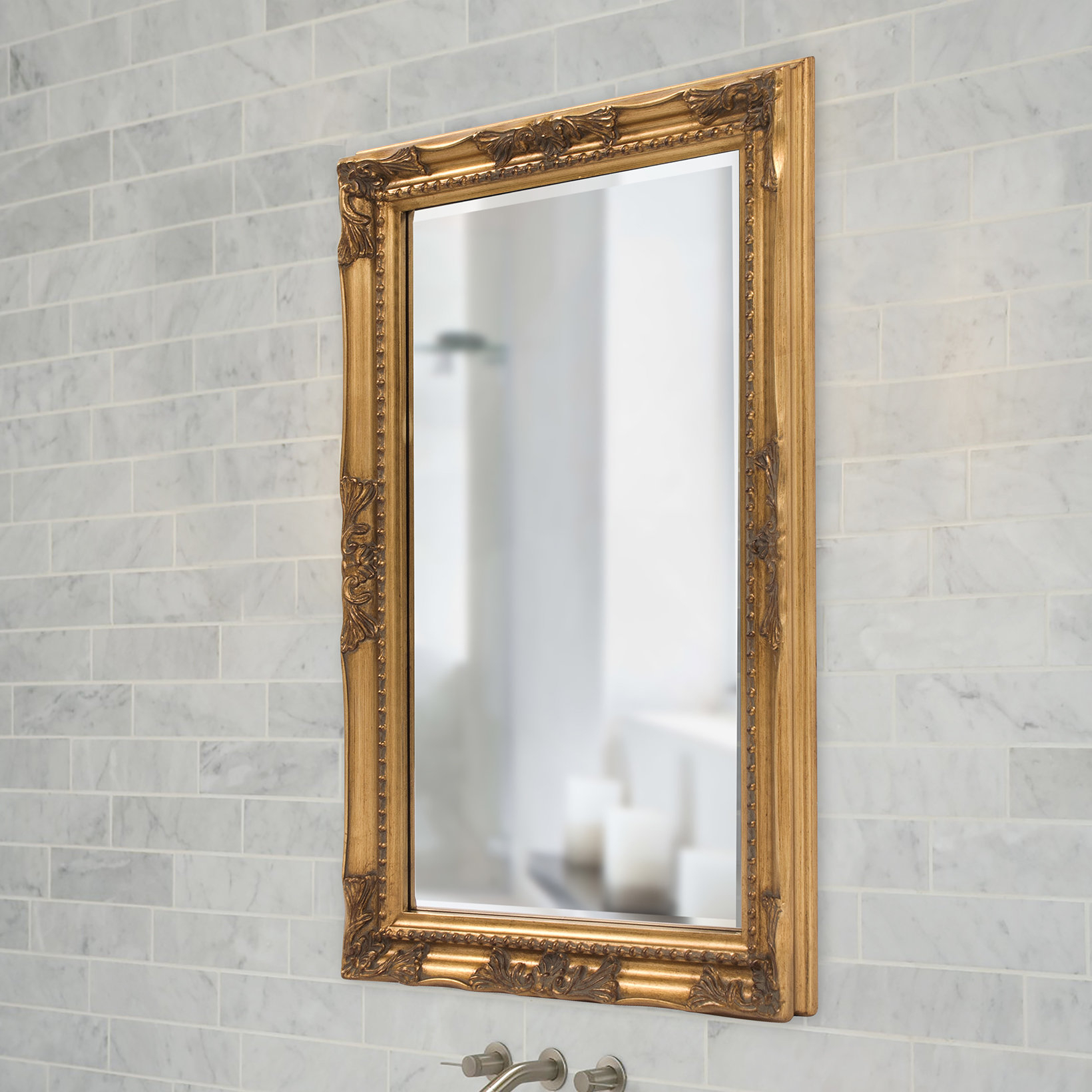84 Inch Beveled Mirror (View 3 of 20)