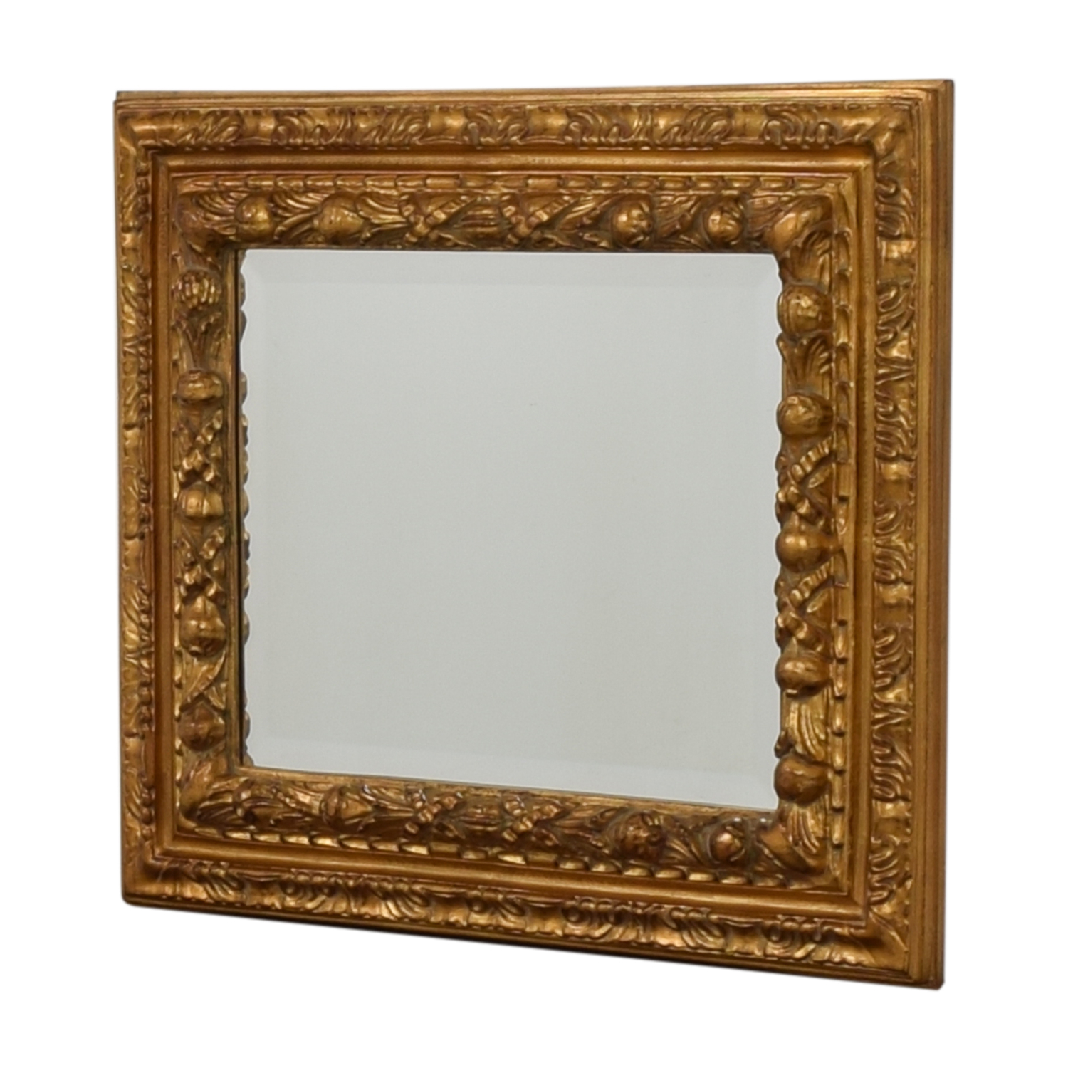 [%90% Off – Gold Distressed Wood Framed Wall Mirror / Decor Throughout Most Current Distressed Wood Wall Mirrors|Distressed Wood Wall Mirrors In 2020 90% Off – Gold Distressed Wood Framed Wall Mirror / Decor|Most Popular Distressed Wood Wall Mirrors With 90% Off – Gold Distressed Wood Framed Wall Mirror / Decor|Latest 90% Off – Gold Distressed Wood Framed Wall Mirror / Decor For Distressed Wood Wall Mirrors%] (View 1 of 20)