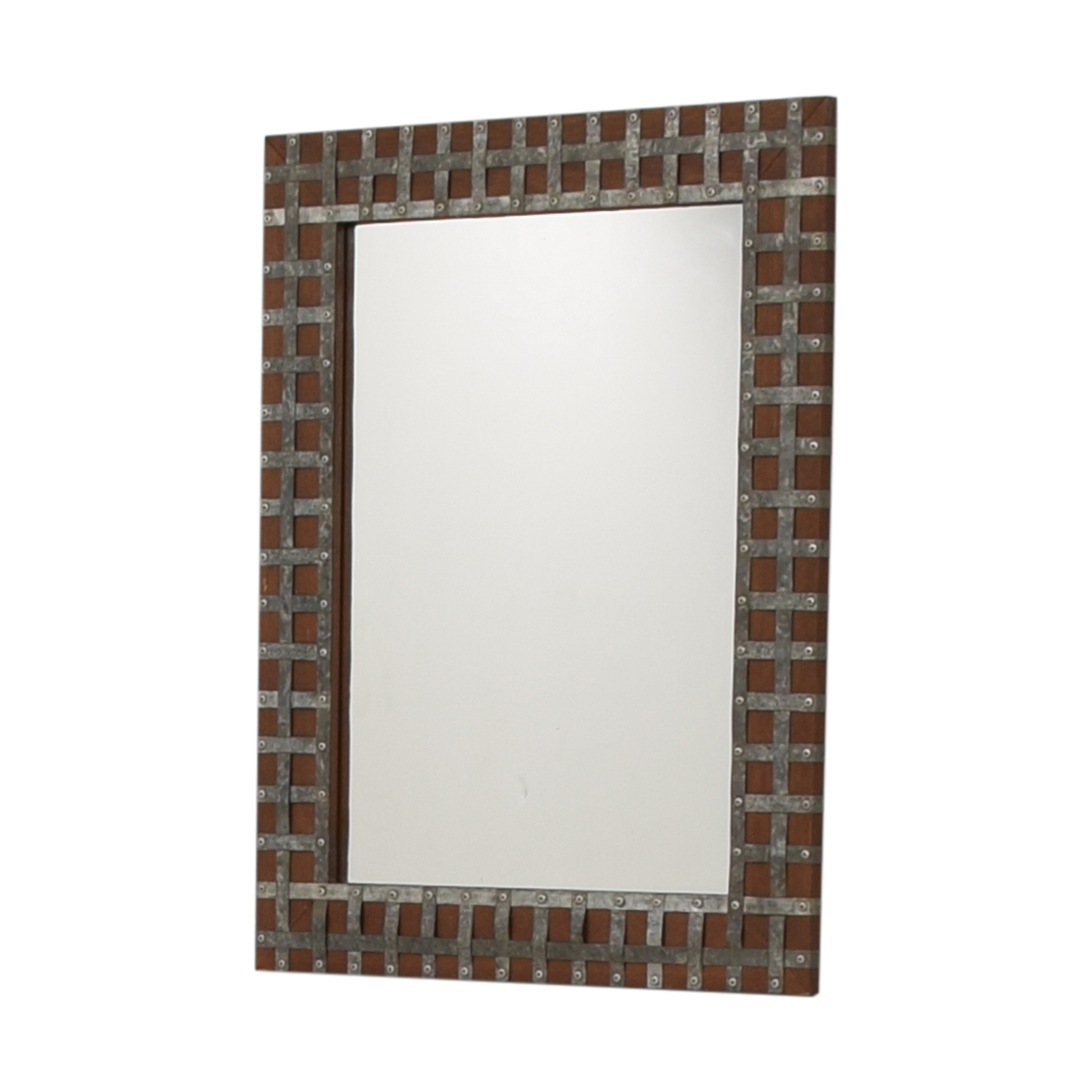 [%90% Off – Pier 1 Pier One Industrial Wood And Metal Framed Wall Mirror / Decor In Well Known Pier One Wall Mirrors|Pier One Wall Mirrors Throughout Most Popular 90% Off – Pier 1 Pier One Industrial Wood And Metal Framed Wall Mirror / Decor|Preferred Pier One Wall Mirrors For 90% Off – Pier 1 Pier One Industrial Wood And Metal Framed Wall Mirror / Decor|Famous 90% Off – Pier 1 Pier One Industrial Wood And Metal Framed Wall Mirror / Decor Pertaining To Pier One Wall Mirrors%] (View 5 of 20)