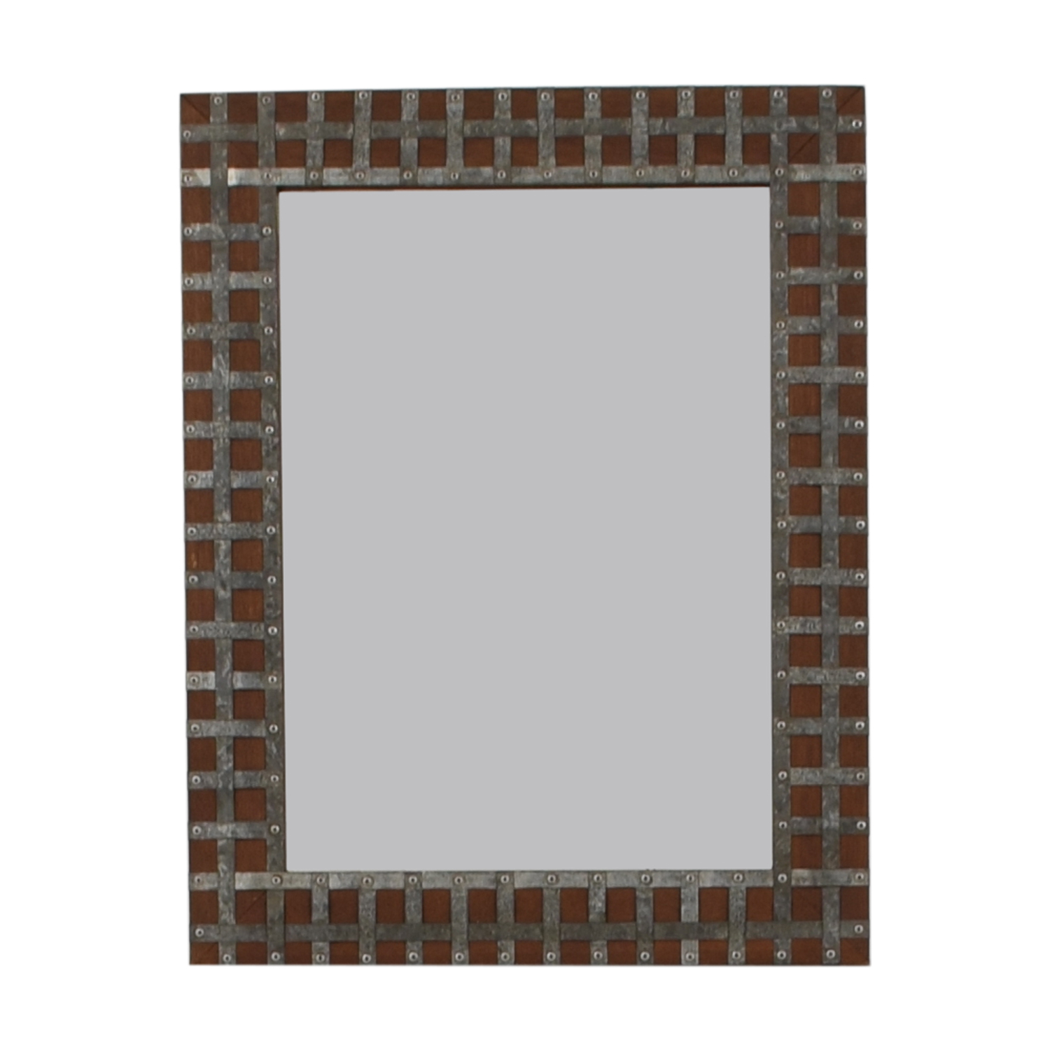 [%90% Off – Pier 1 Pier One Industrial Wood And Metal Framed Wall Mirror / Decor Throughout Current Pier One Wall Mirrors|Pier One Wall Mirrors With 2020 90% Off – Pier 1 Pier One Industrial Wood And Metal Framed Wall Mirror / Decor|Well Known Pier One Wall Mirrors Pertaining To 90% Off – Pier 1 Pier One Industrial Wood And Metal Framed Wall Mirror / Decor|Most Up To Date 90% Off – Pier 1 Pier One Industrial Wood And Metal Framed Wall Mirror / Decor In Pier One Wall Mirrors%] (View 10 of 20)