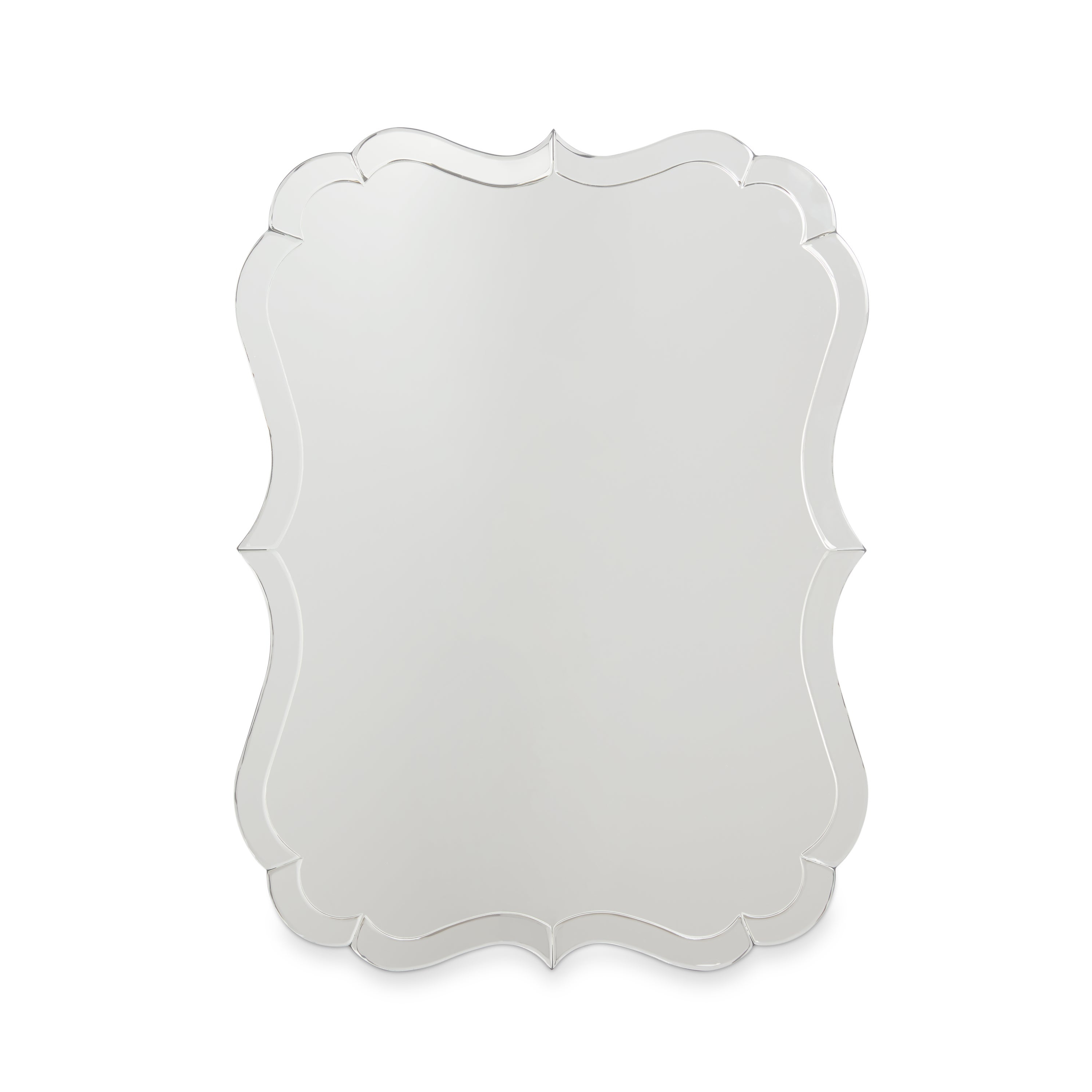 Abbyson Olivia Rectangle Wall Mirror – Silver Pertaining To Well Known Phineas Wall Mirrors (View 1 of 20)