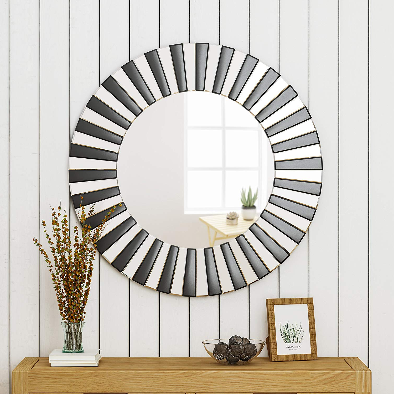 Abell Glam Circular Wall Mirror Intended For Best And Newest Circular Wall Mirrors (View 17 of 20)