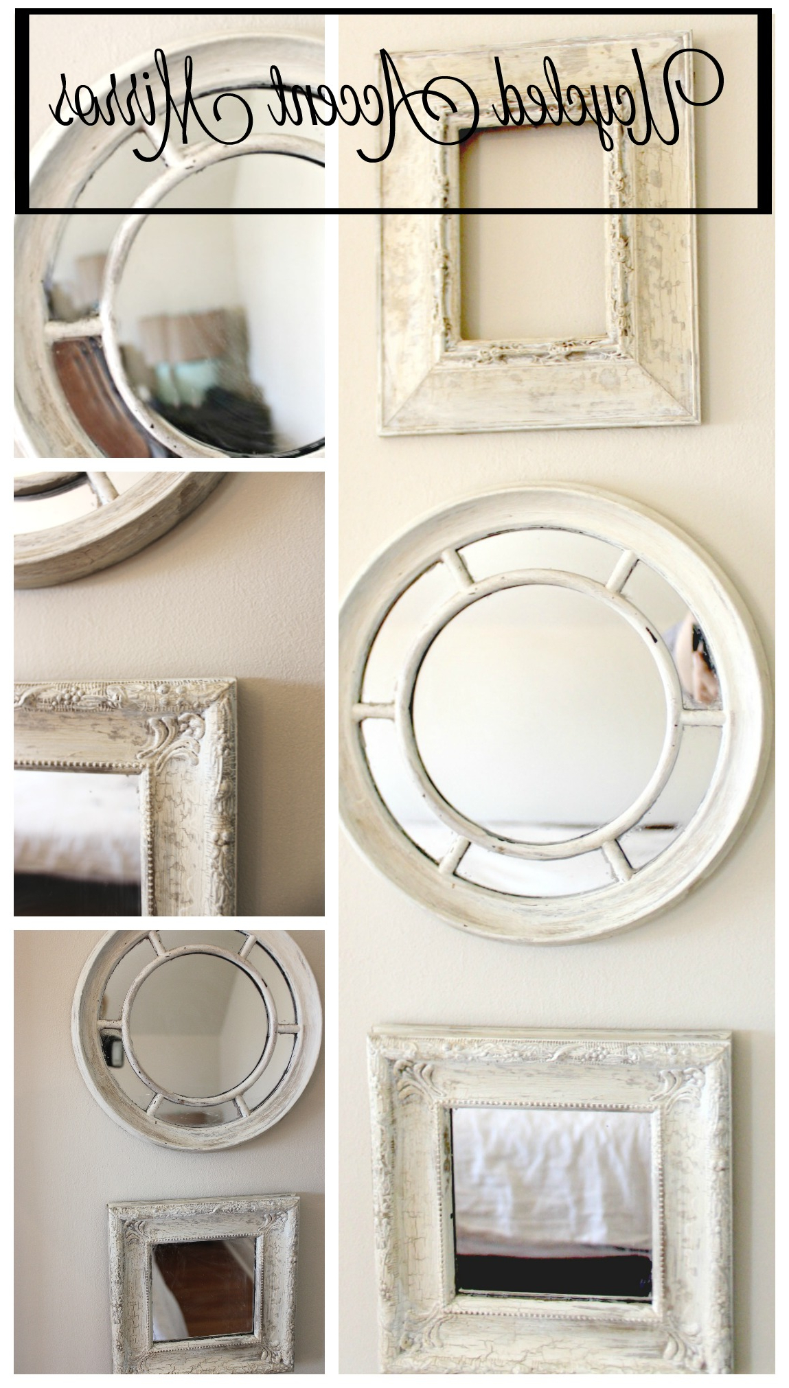 Accent Mirrors Pertaining To Well Known Upcycled Accent Mirrors – New House New Home (View 4 of 20)