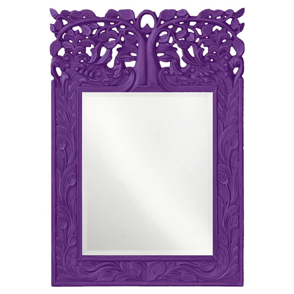 Accent Mirrors Within Trendy Purple Wall Mirrors (View 1 of 20)