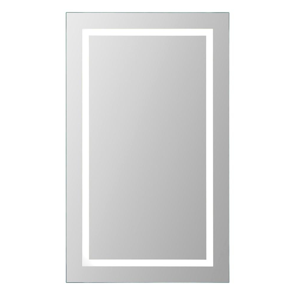Adele Led 40 In. H X 24 In. W Rectangular Mirror With Regard To Recent Brynn Accent Mirrors (Gallery 18 of 20)