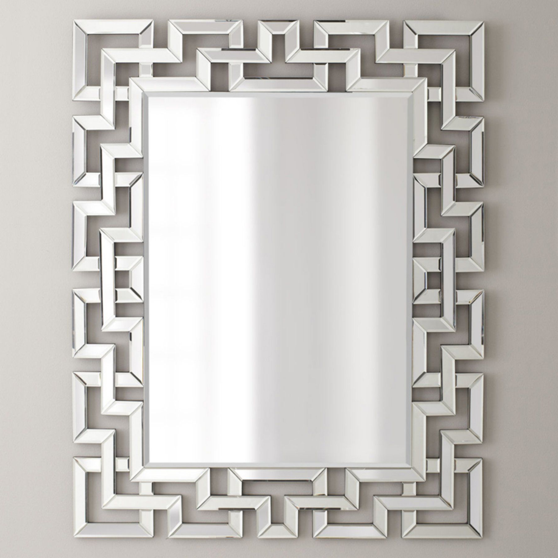 Afina Modern Luxe Rectangular Wall Mirror – 32w X 42h In (View 1 of 20)