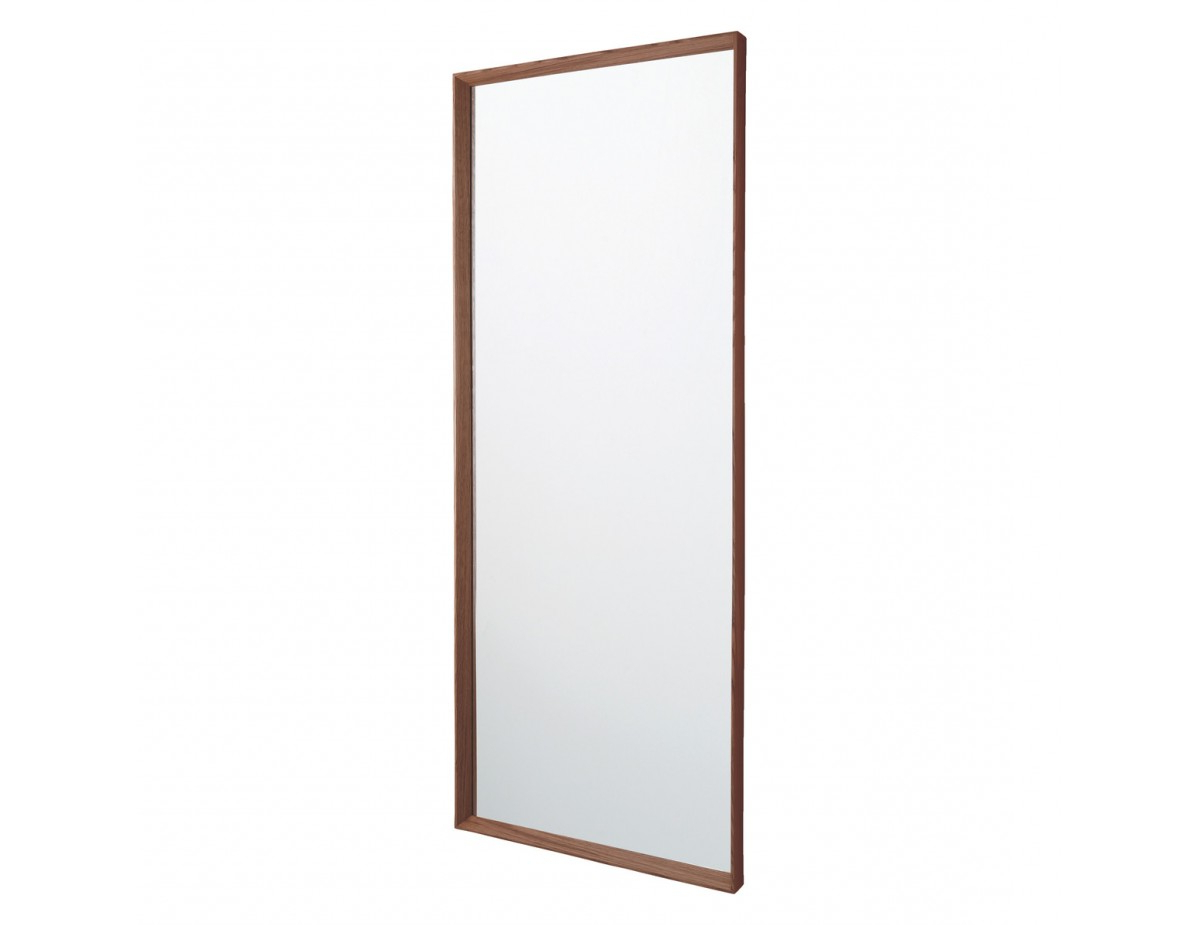 Agatha 55 X 140cm Walnut Full Length Wall Mirror With Well Known Full Length Wall Mirrors (View 13 of 20)