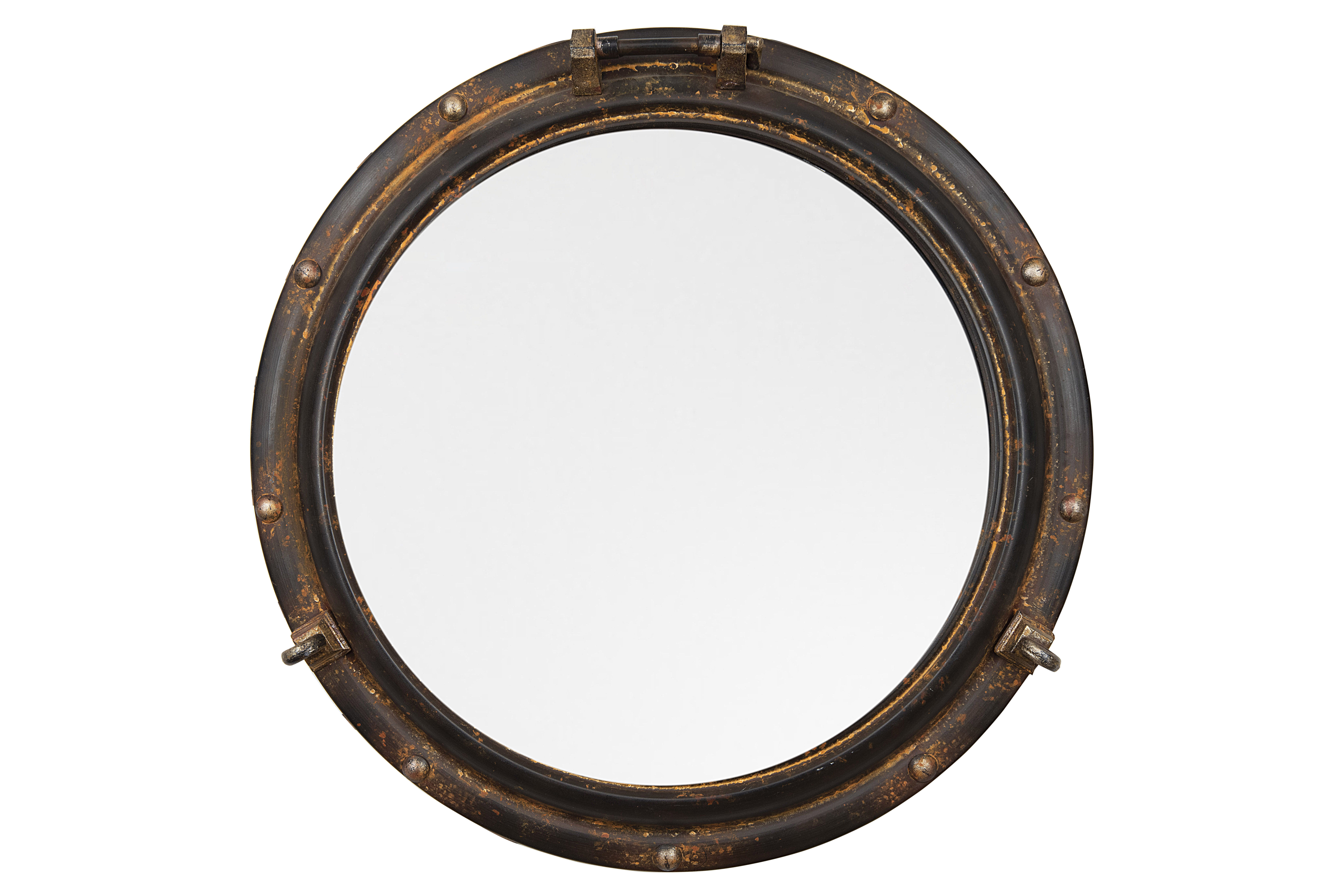 Alie Traditional Beveled Distressed Accent Mirror Inside 2019 Alie Traditional Beveled Distressed Accent Mirrors (View 4 of 20)