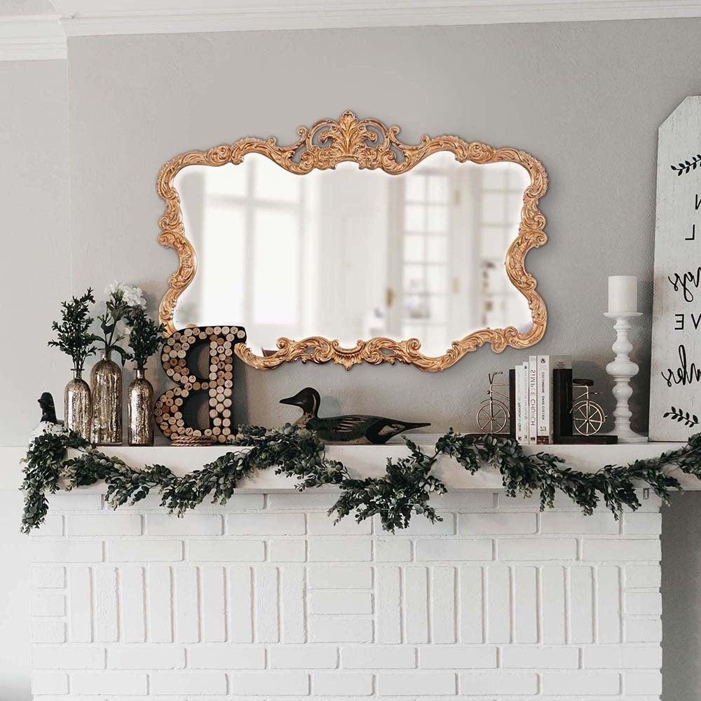 Allan Andrews Talida Gold Wall Mirror Throughout Preferred Talida Wall Mirrors (View 1 of 20)