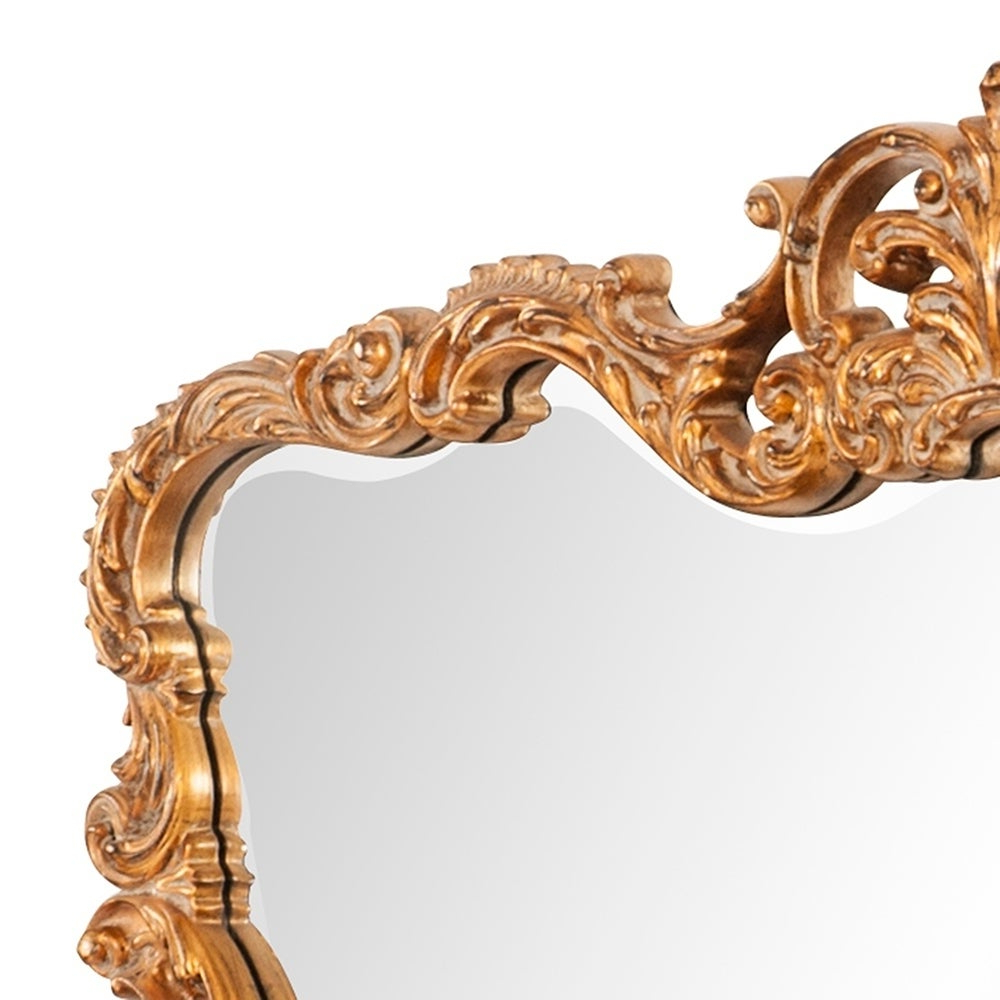 Allan Andrews Talida Gold Wall Mirror Within Newest Talida Wall Mirrors (View 2 of 20)