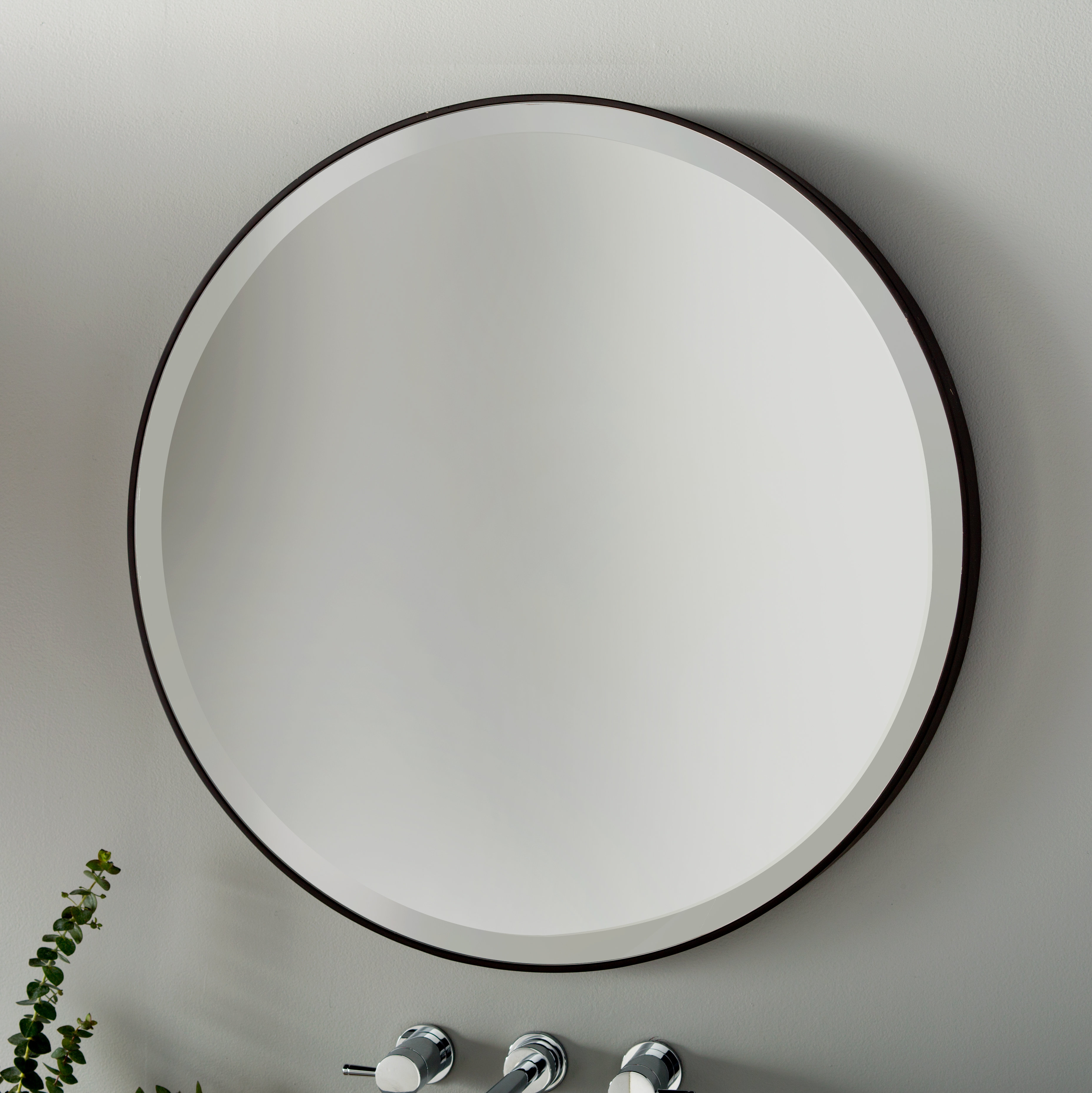 Allmodern With Best And Newest Traditional Frameless Diamond Wall Mirrors (View 3 of 20)