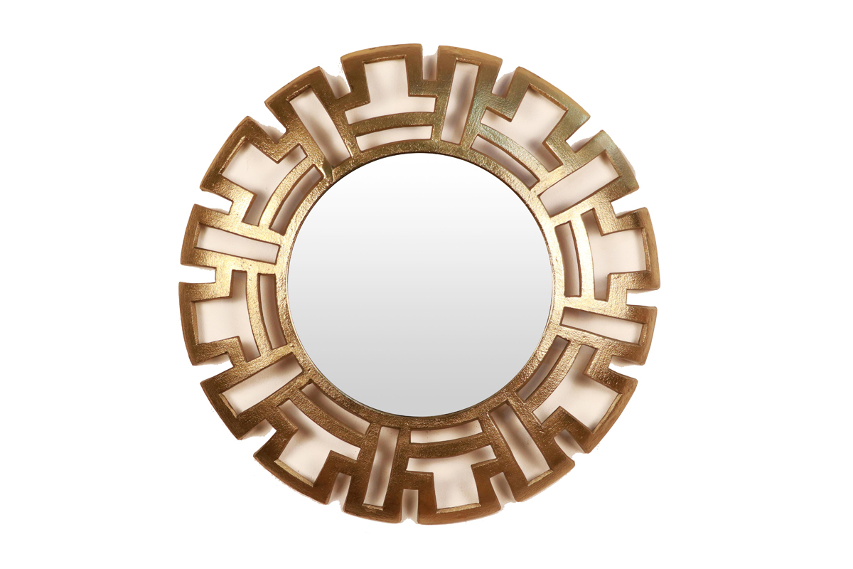 Aluminum Round Wall Decorative Mirrorcocovey Pertaining To Well Liked Round Decorative Wall Mirrors (View 20 of 20)