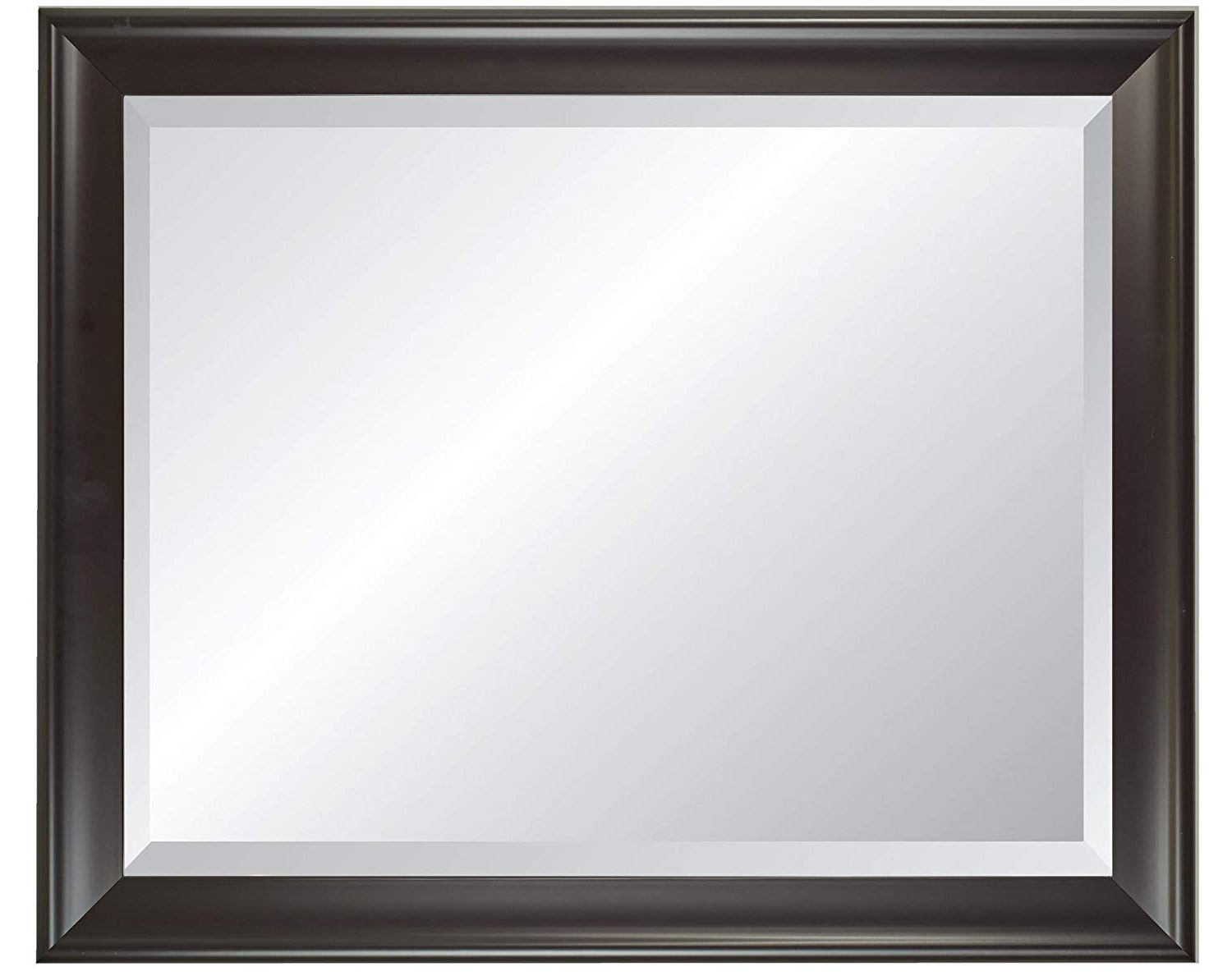 Amazon: Alpine Art & Mirror Alpine Furniture Black Framed Wall Within Recent Black Framed Wall Mirrors (View 6 of 20)