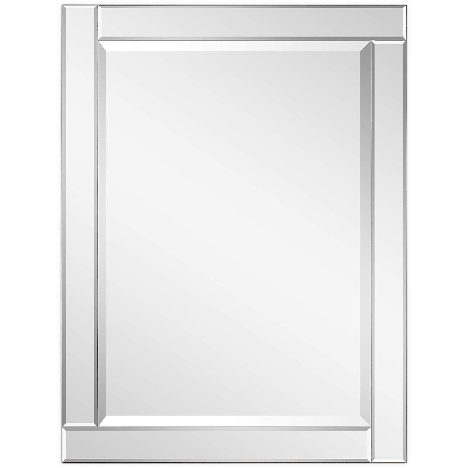 Amazon: Empire Art Direct Modern Rectangle Wall Mirror For In Most Popular Modern Rectangle Wall Mirrors (View 11 of 20)