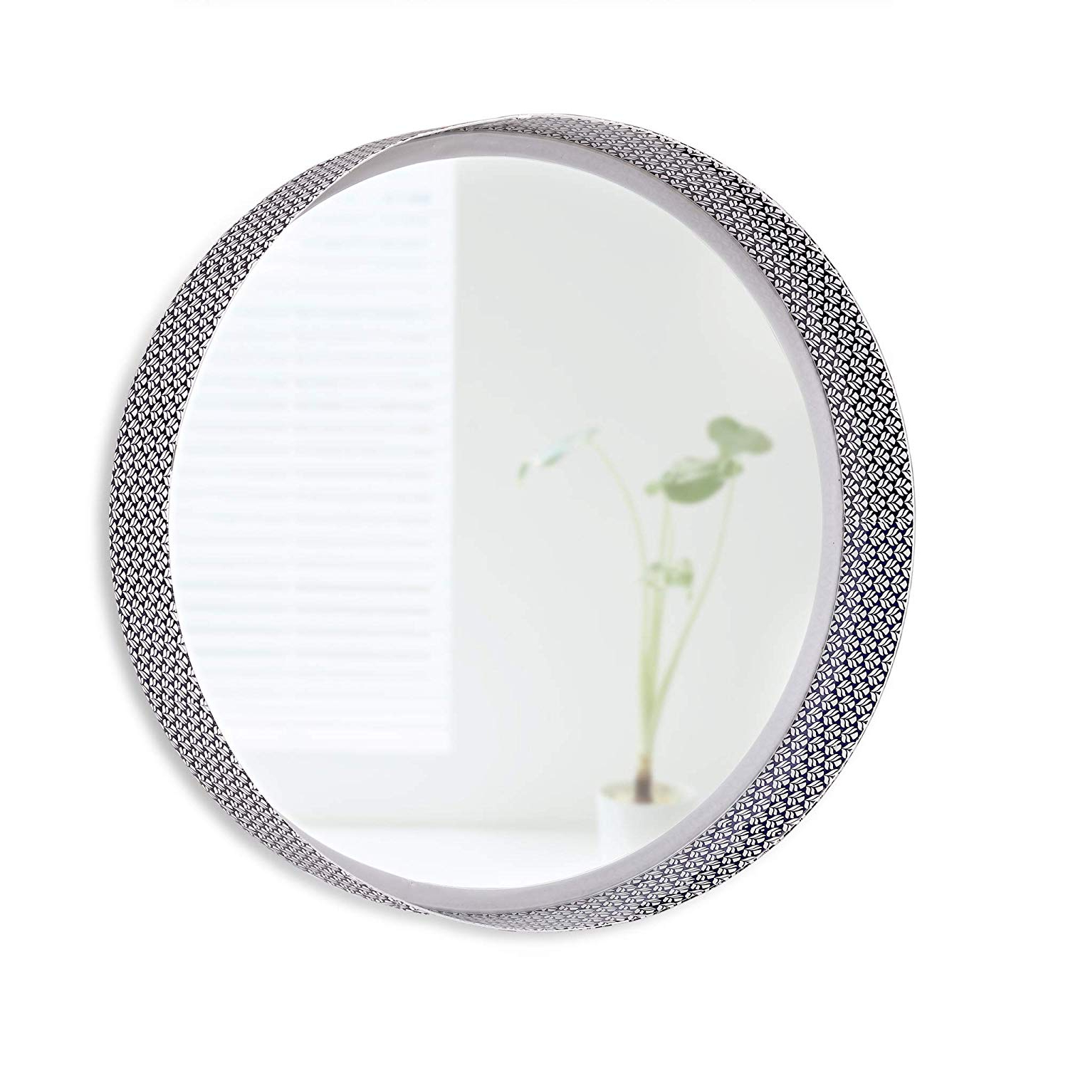 Amazon: Folkulture Decorative Wall Mirror Or Round Mirror For With Current Decorative Bedroom Wall Mirrors (View 3 of 20)