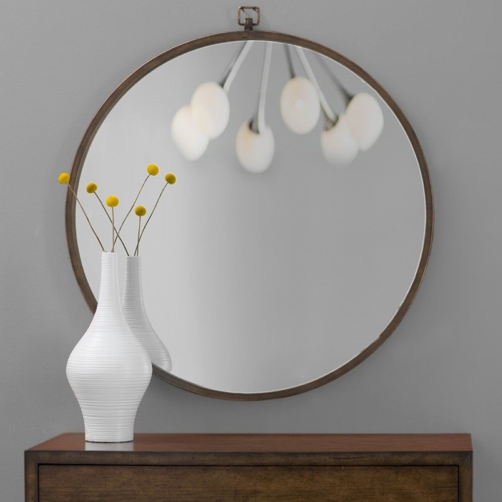 Amazon: Minerva Wall Mirror, Accent Wall Mirror: Home & Kitchen With Regard To Fashionable Minerva Accent Mirrors (Gallery 4 of 20)