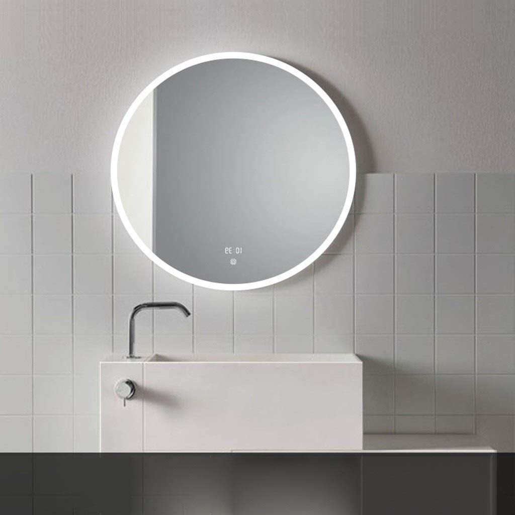 Amazon: Njyt Bathroom Mirror Wall Mirror Bathroom Small Pertaining To Most Popular Small Bathroom Wall Mirrors (Gallery 13 of 20)