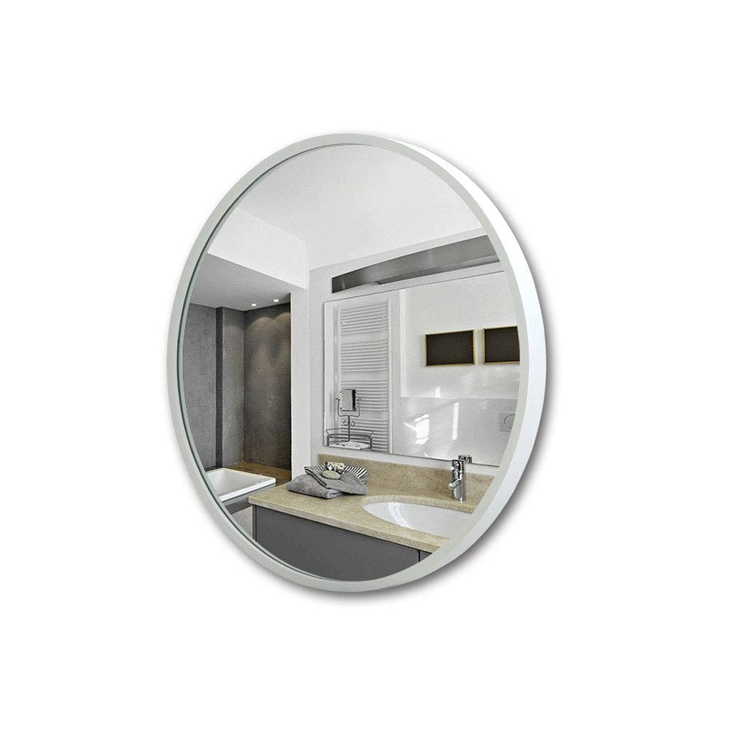 Amazon: Yang Baby Round Wall Mirror Bathroom Mirror – 80cm With 2020 Baby Wall Mirrors (View 18 of 20)
