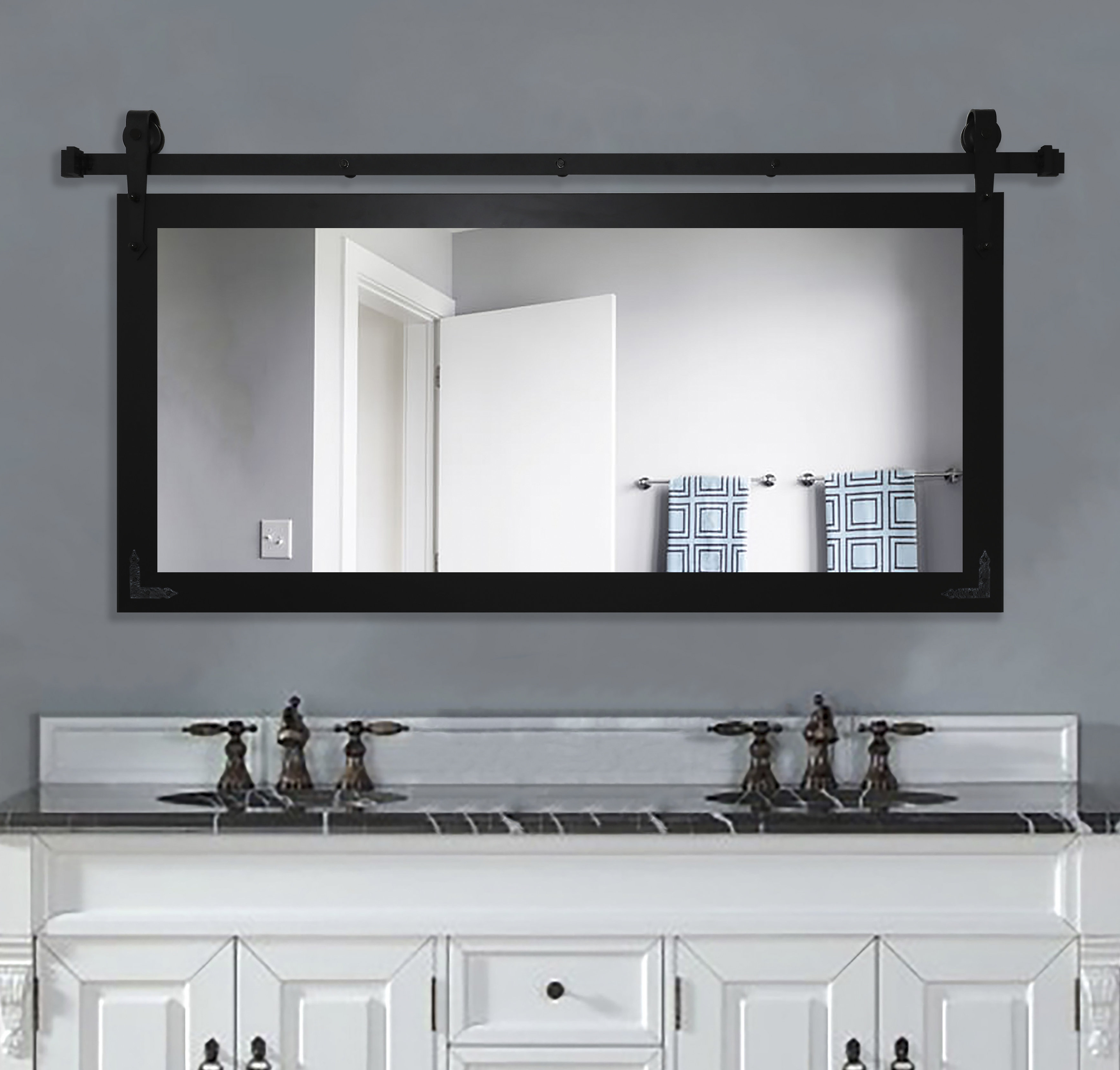 American Made Accent Wall Mirrors Pertaining To Popular Nicholle Bathroom/vanity Wall Mirror (View 7 of 20)