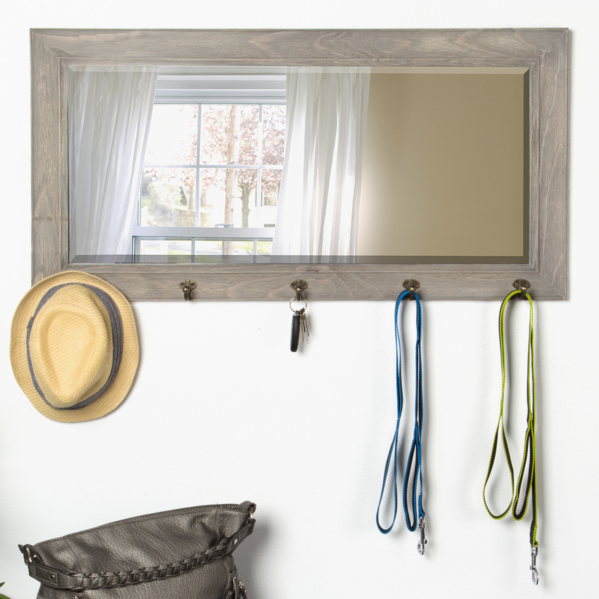Andover Mills Teo Pub Accent Mirror Inside 2019 Tifton Traditional Beveled Accent Mirrors (View 12 of 20)