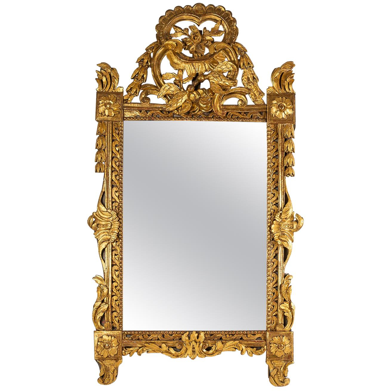 Antique And Vintage Mirrors – 16,608 For Sale At 1stdibs Within Best And Newest Rectangle Antique Galvanized Metal Accent Mirrors (View 20 of 20)