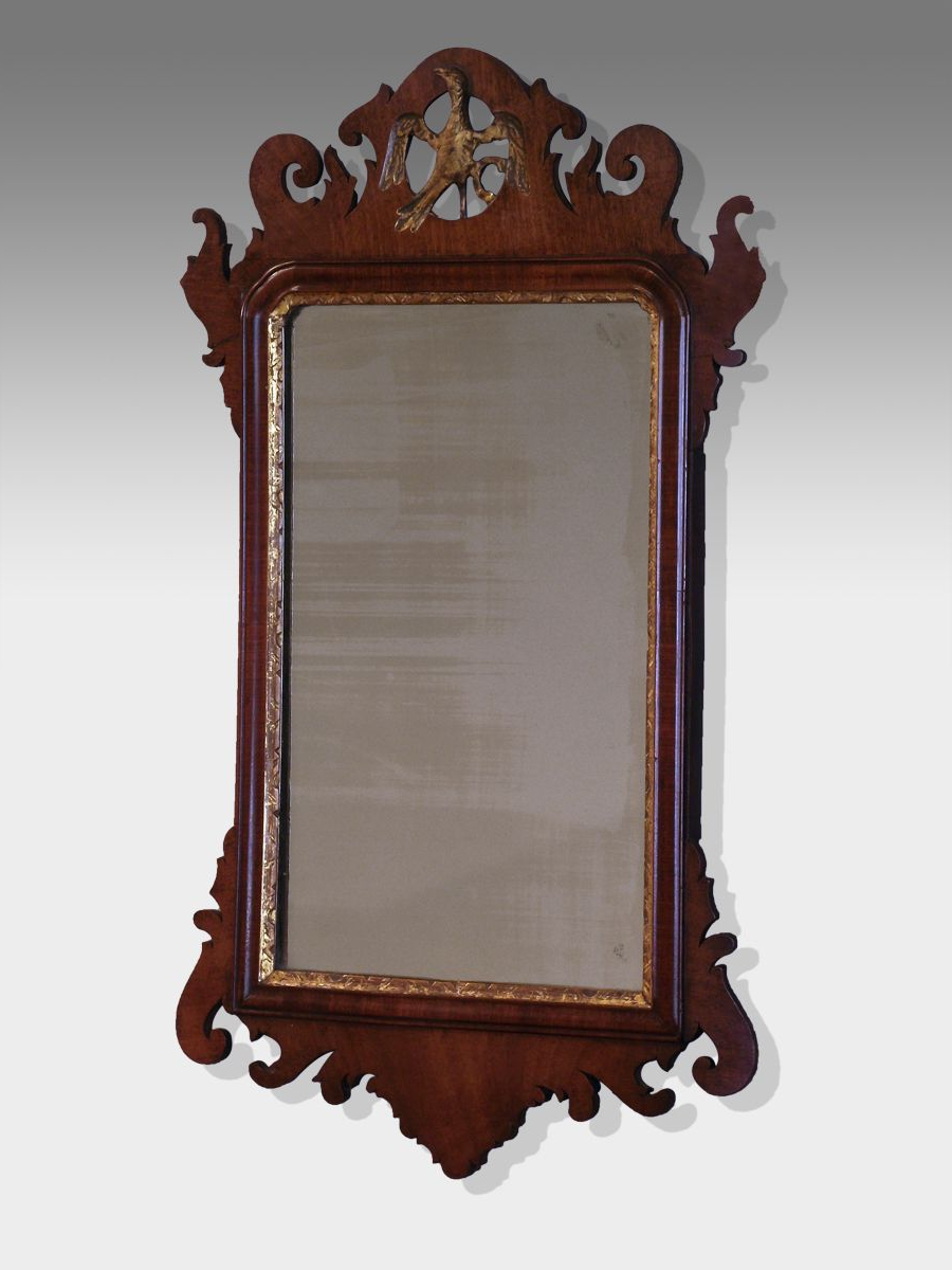 Antique Fret Wall Mirror (View 2 of 20)