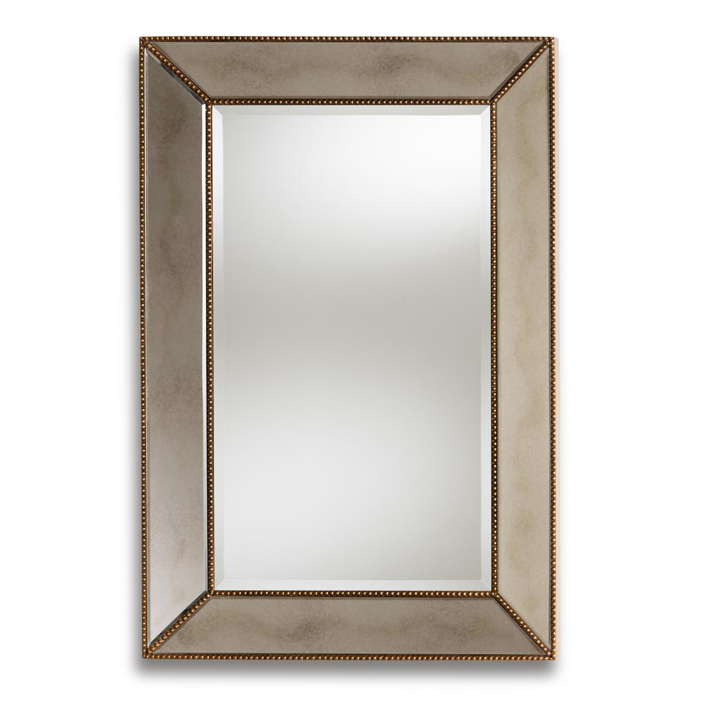 Antique Wall Mirrors In Popular Neva Antique Gold Wall Mirror (View 17 of 20)