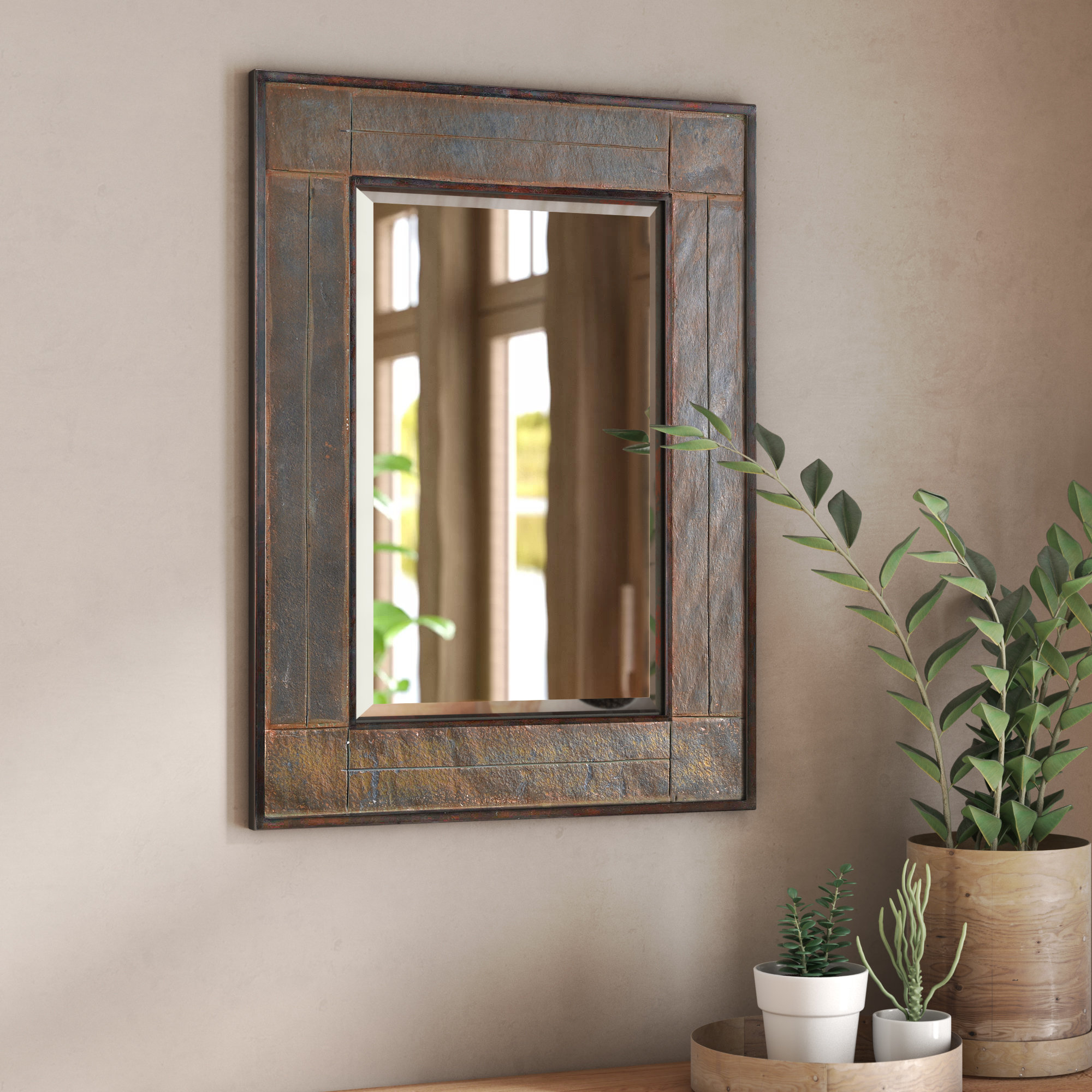 Appleby Accent Mirror In Favorite 2 Piece Priscilla Square Traditional Beveled Distressed Accent Mirror Sets (View 6 of 20)