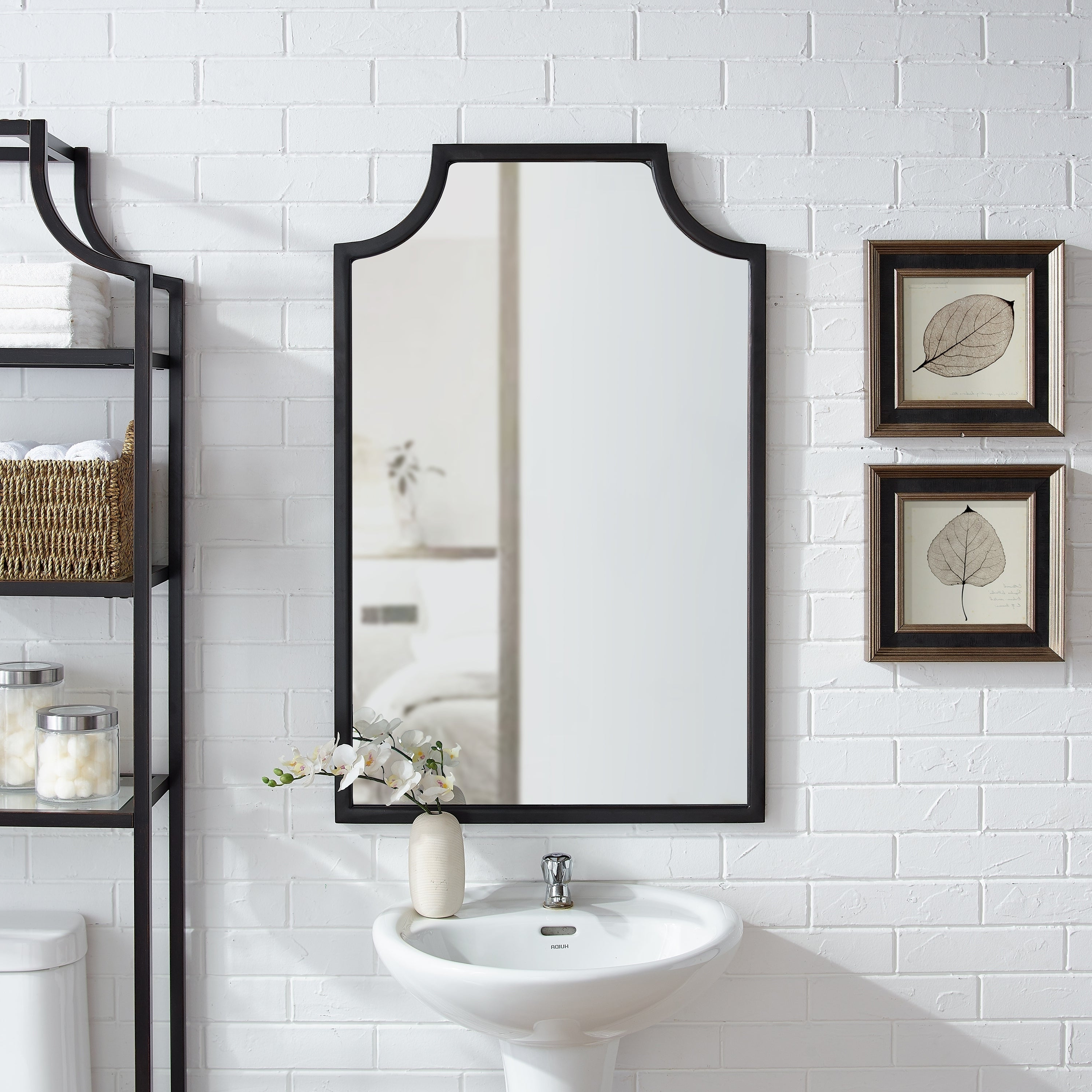 Arch Top Vertical Wall Mirrors With Newest Arch Crowned Top Mirrors (View 6 of 20)