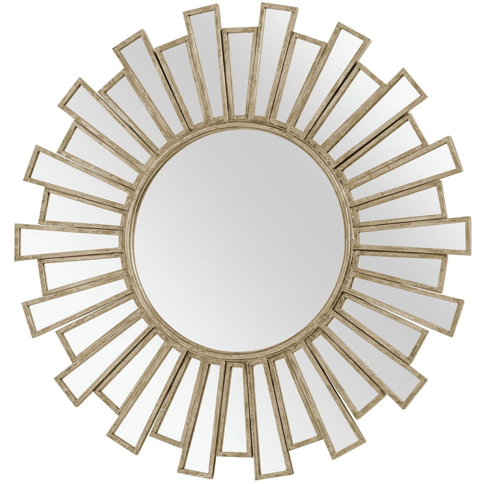 Arinna Gold Wall Mirror With Regard To Most Current Gold Wall Mirrors (View 1 of 20)