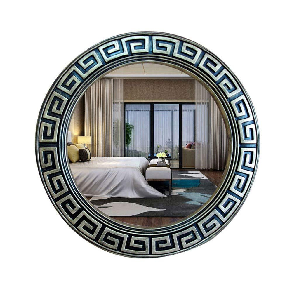 Asian Inspired Wall Mirrors Intended For Well Known Amazon: Gxfc Antique Asian Style Decorative Wall Mirror Round (View 17 of 20)