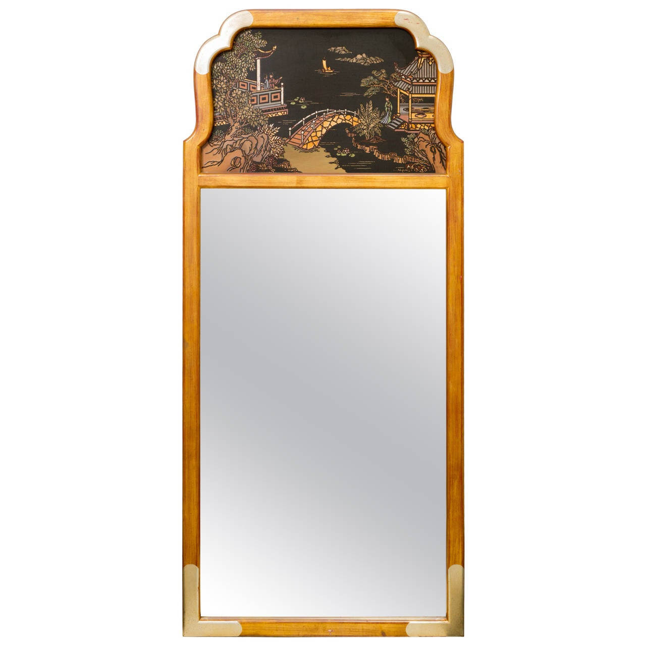 Asian Style Wall Mirrors In Favorite Asian Style Wall Mirrorla Barge (View 11 of 20)