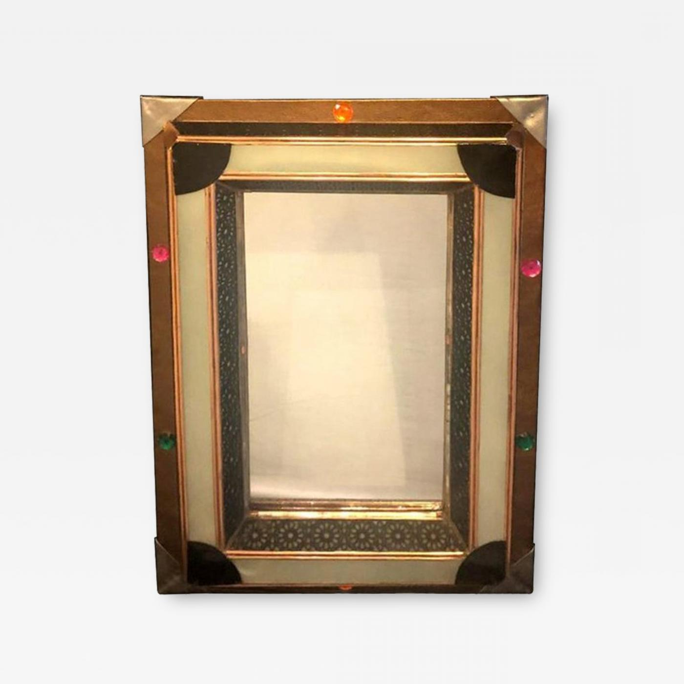 Atlas Showroom – Lighted Art Deco Moroccan Style Vanity Mirror Or Wall  Mirror Throughout Well Known Moroccan Wall Mirrors (View 2 of 20)