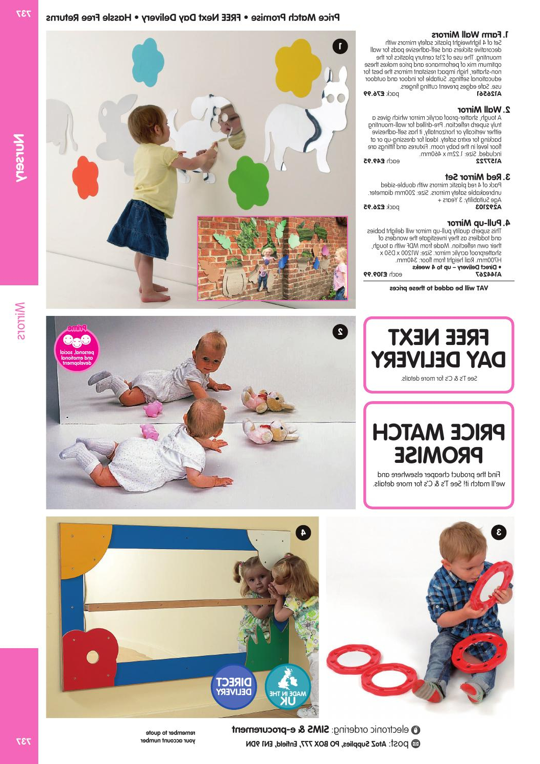Atoz Educational Supplies Catalogue 2015/16 – Nurseryfindel Ltd Pertaining To Best And Newest Baby Safe Wall Mirrors (View 9 of 20)