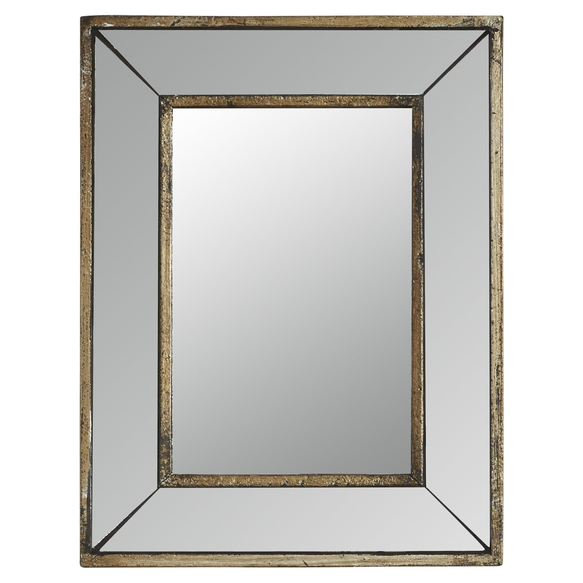 Auvillar Accent Mirror In Well Known Koeller Industrial Metal Wall Mirrors (View 8 of 20)