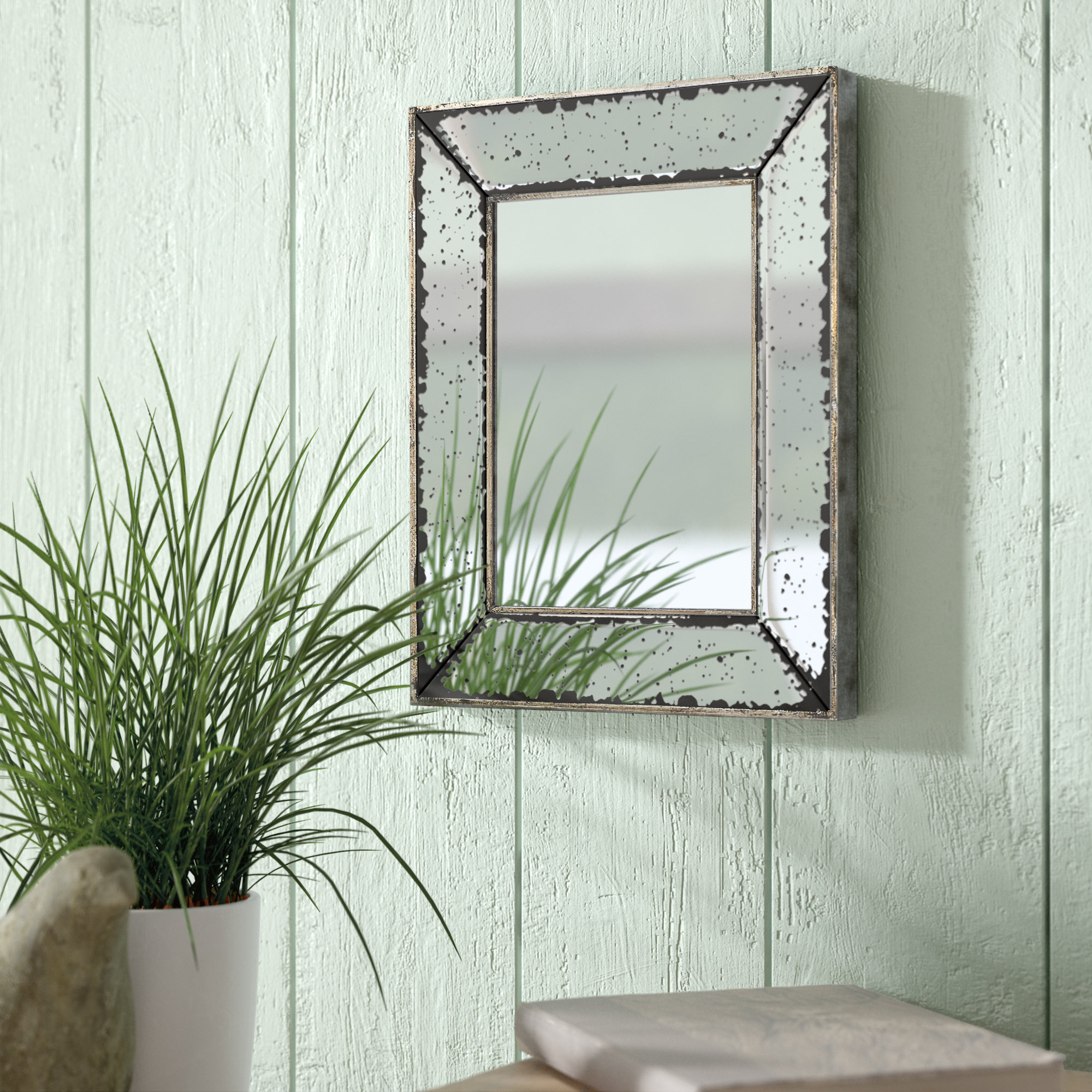 Auvillar Accent Mirror Regarding Most Up To Date Knott Modern & Contemporary Accent Mirrors (View 6 of 20)