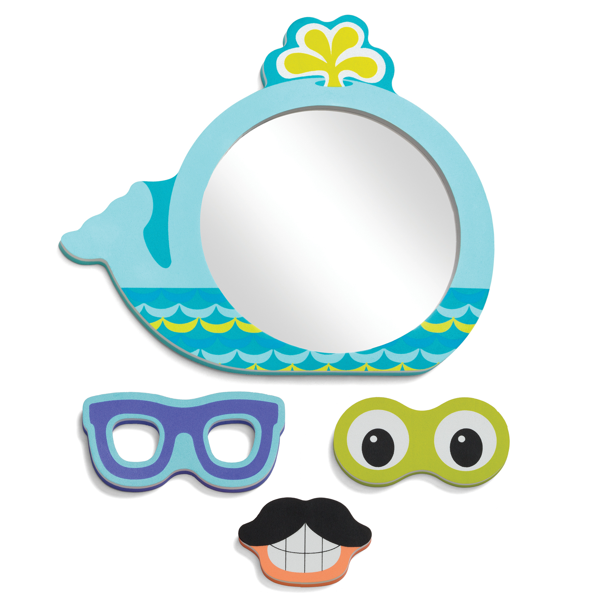 Baby Safe Wall Mirrors Inside Widely Used Infantino Funny Faces Bath Mirror (View 20 of 20)